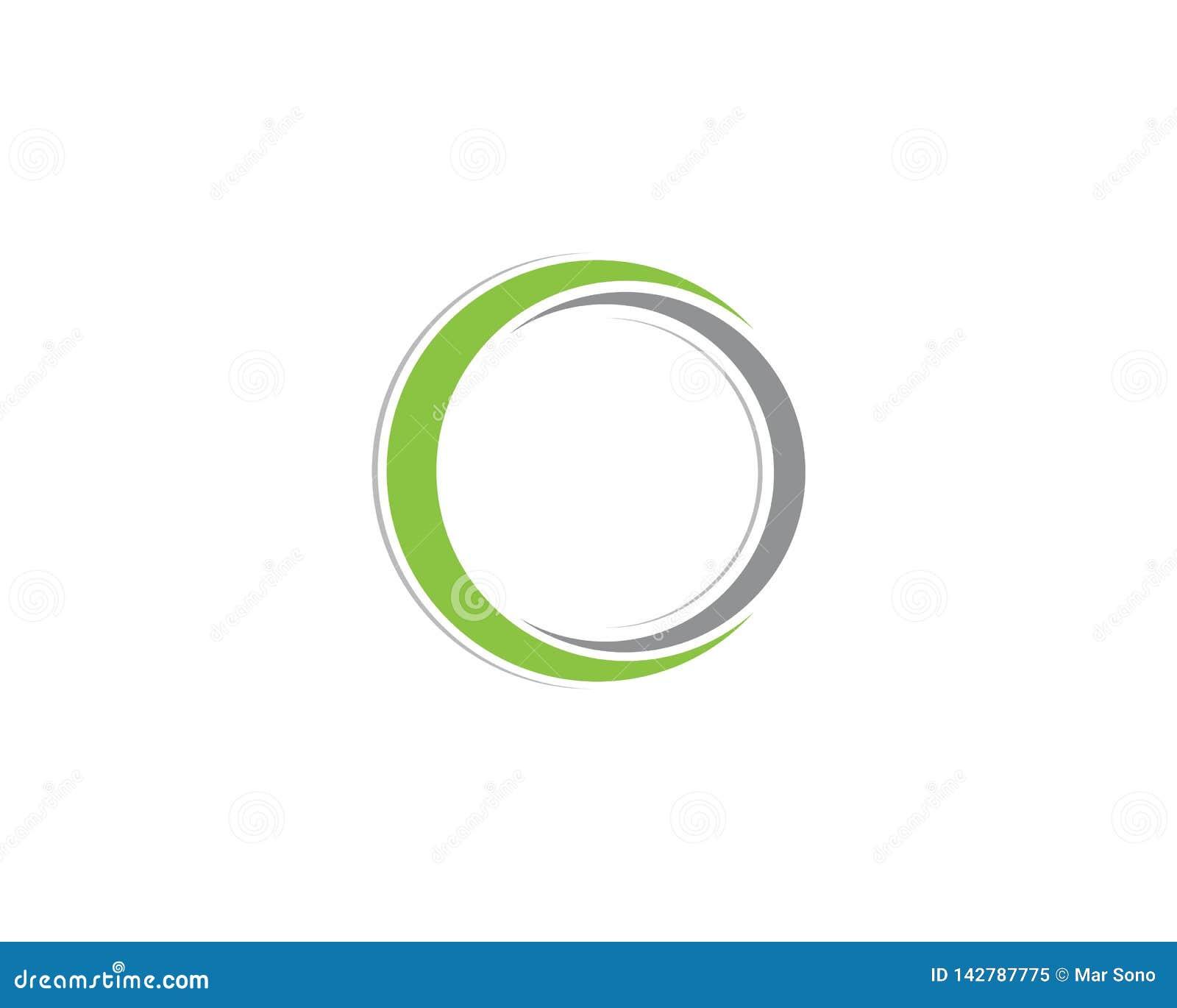 Logo de cercle et vecteurs de symboles