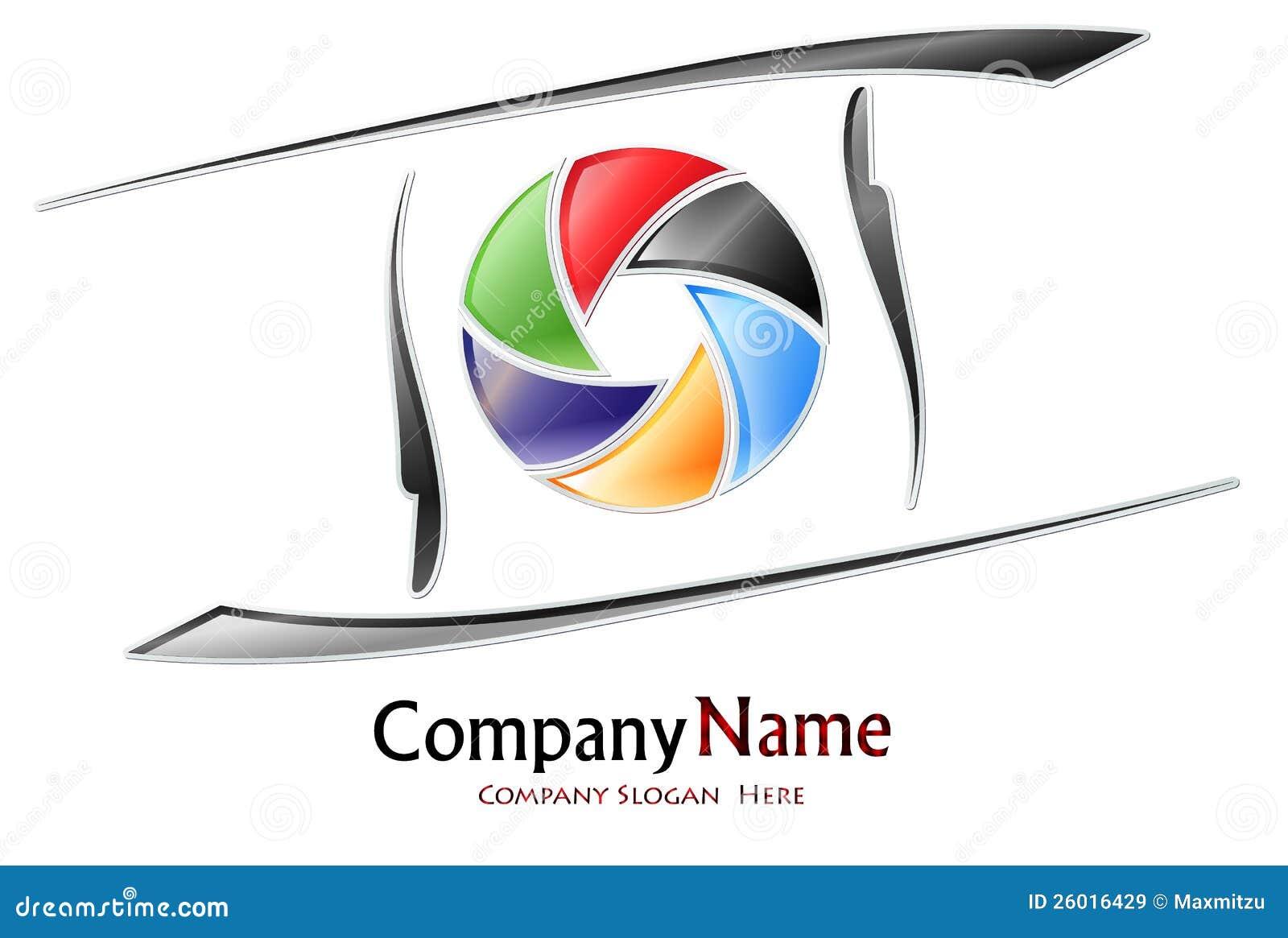 Logo de compagnie de photographie