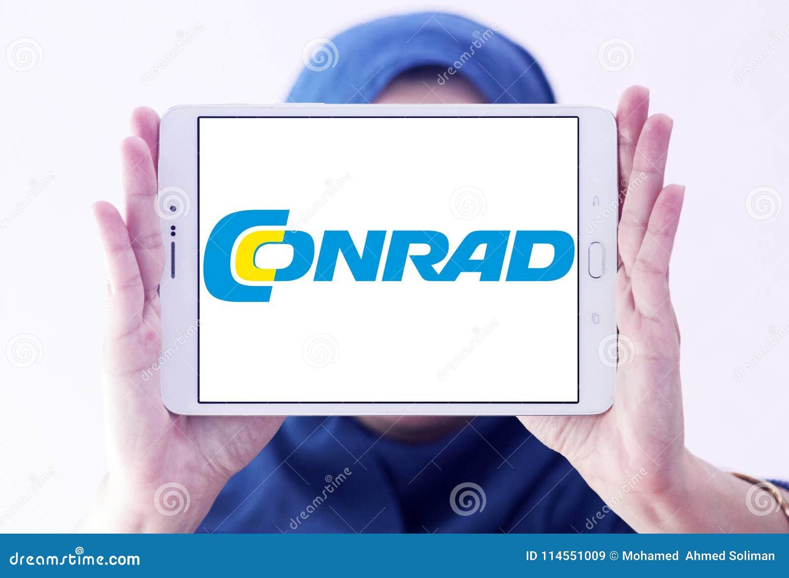 Logo de détaillant de l électronique de Conrad