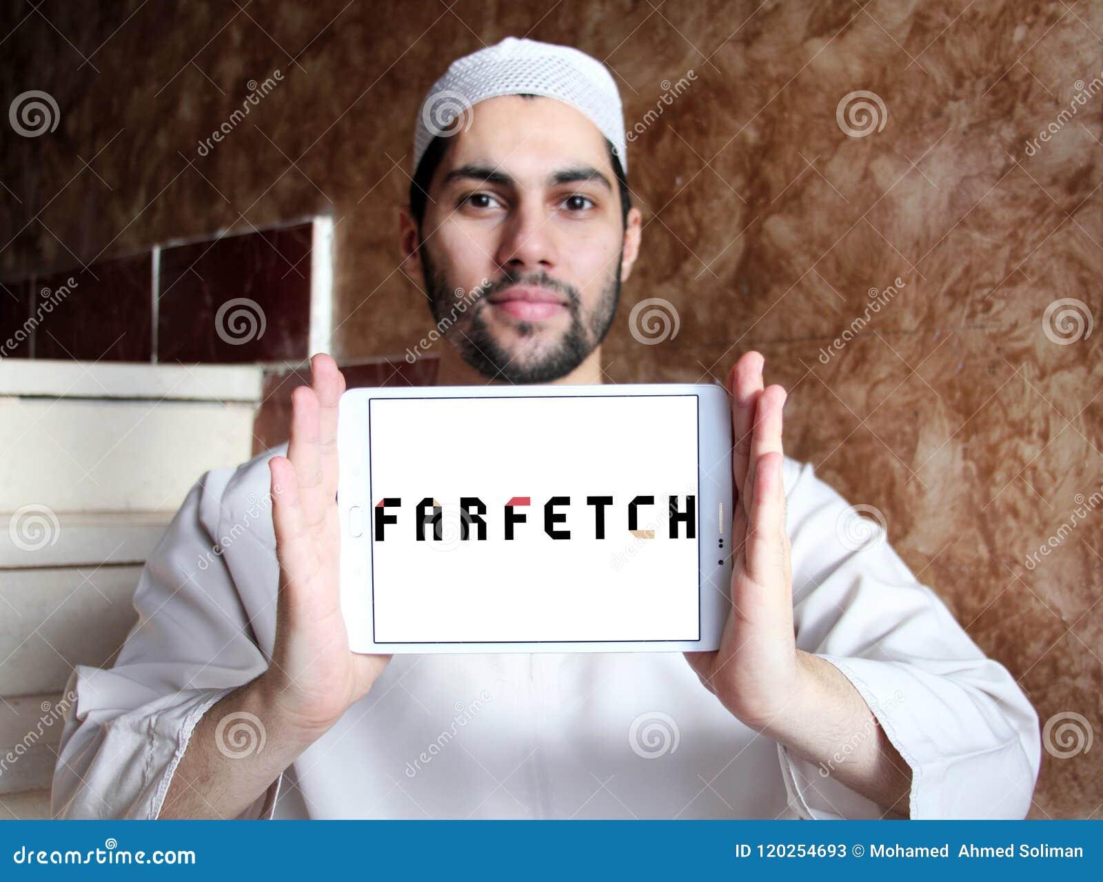 Logo de détaillant de mode de Farfetch