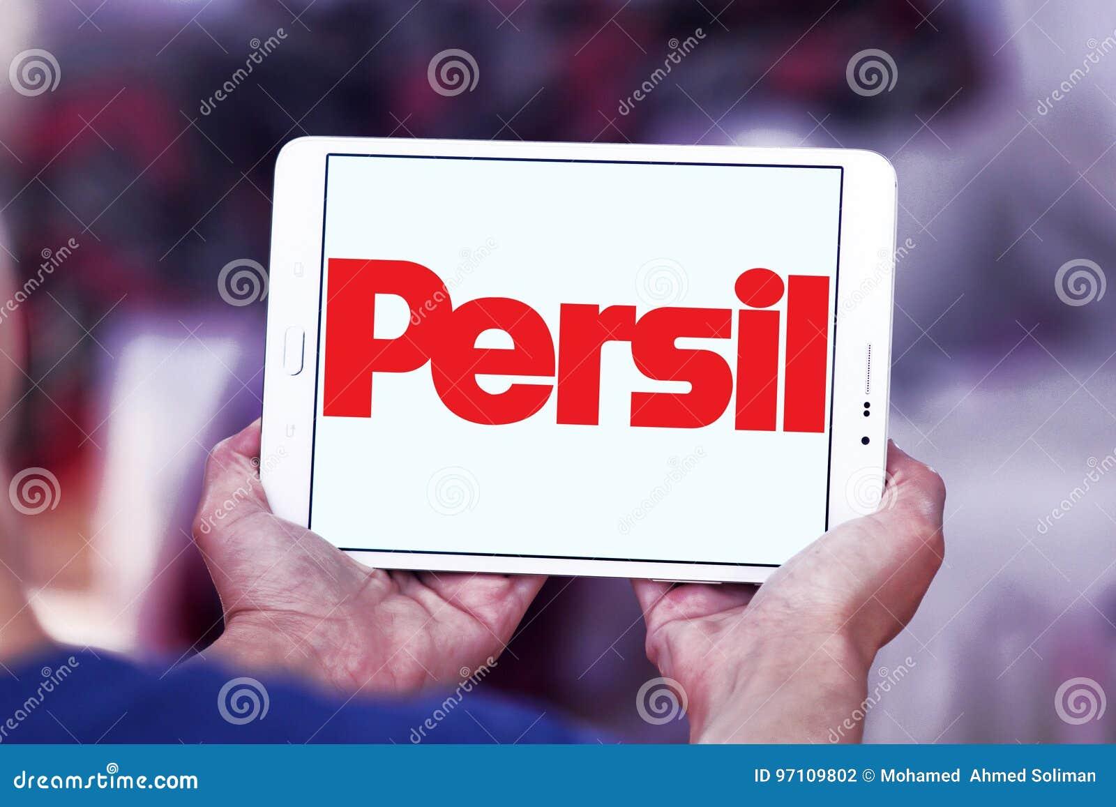 Logo de détergent de blanchisserie de Persil