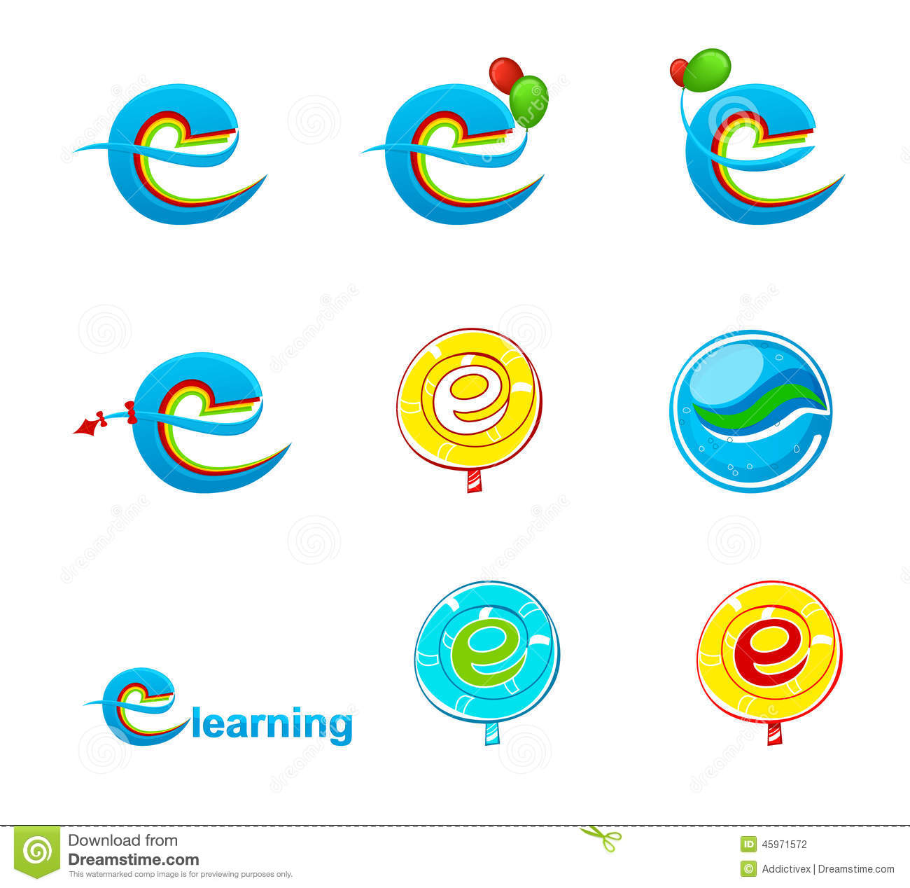 Logo de l explorateur logo/E-learning