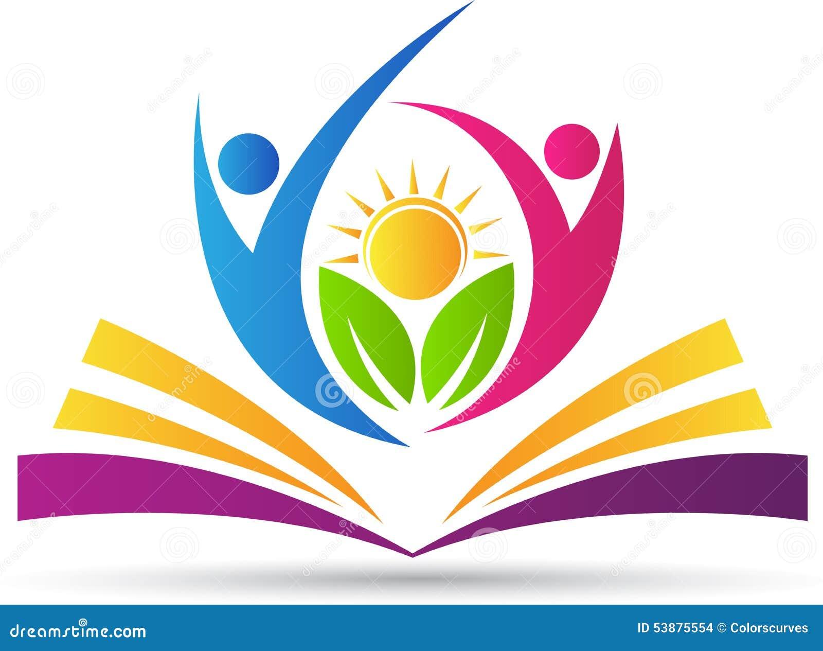 Populaire Logo de livre illustration de vecteur. Image du humain - 53875554 LF22
