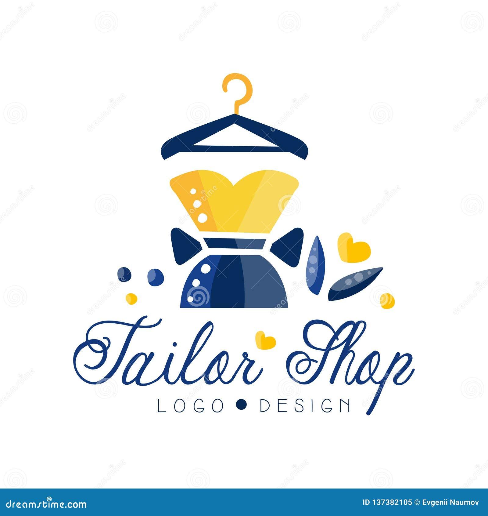Logo De Magasin De Tailleur Salon De Couturieres Studio De