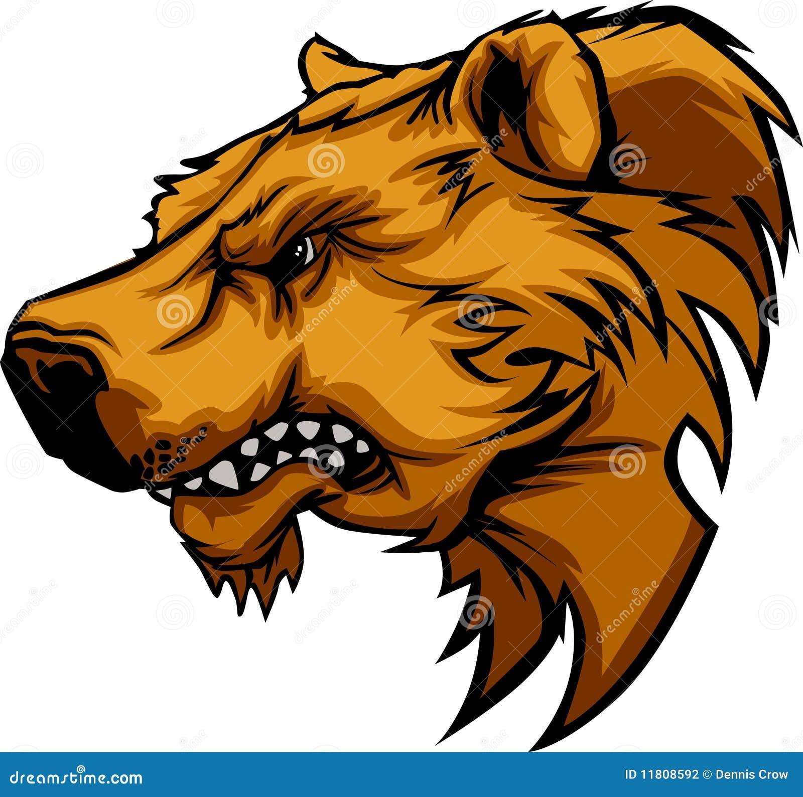 Logo de mascotte d ours