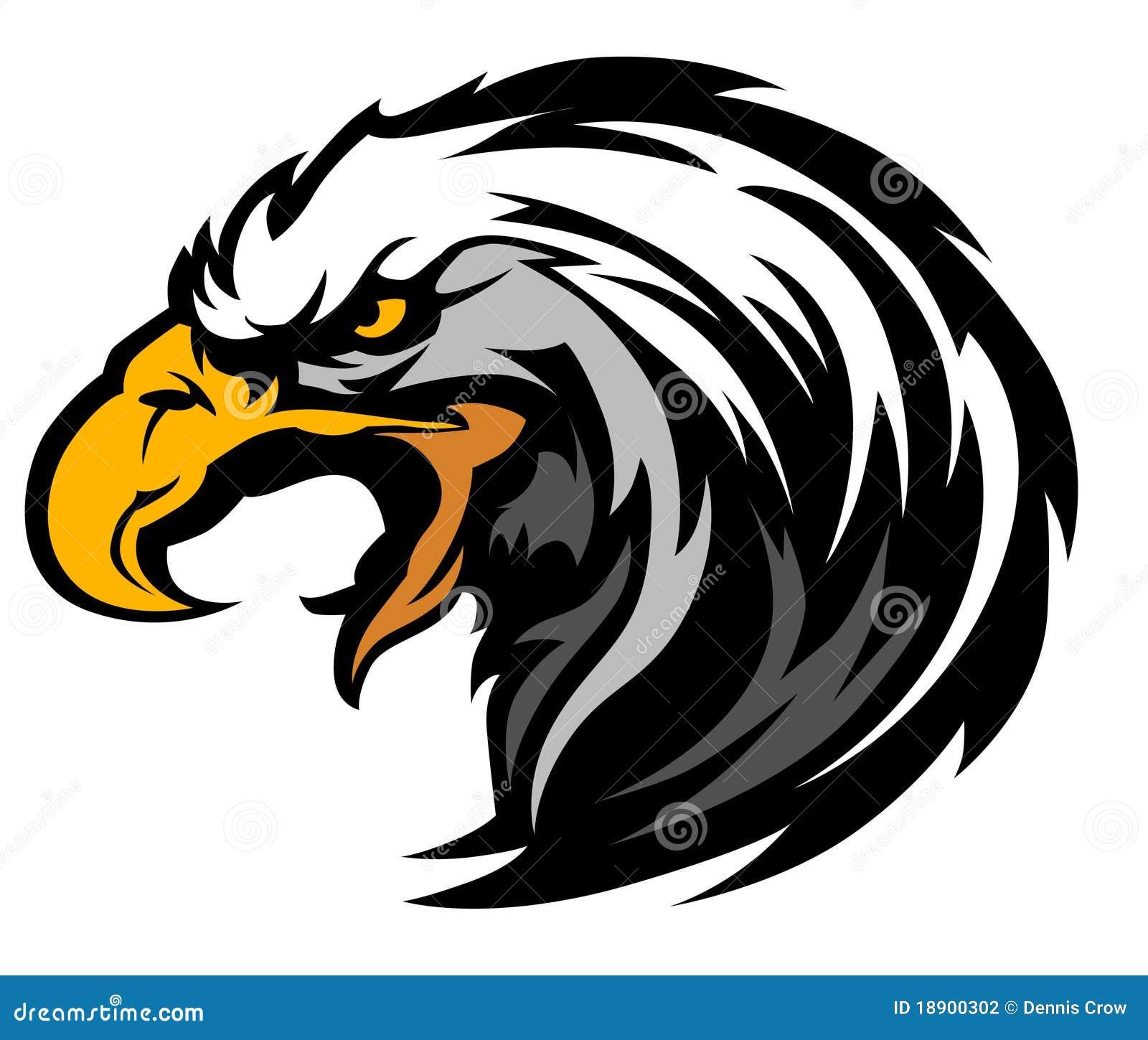 Souvent Logo De Mascotte De Tête D'aigle De Vecteur Photographie stock  GN84