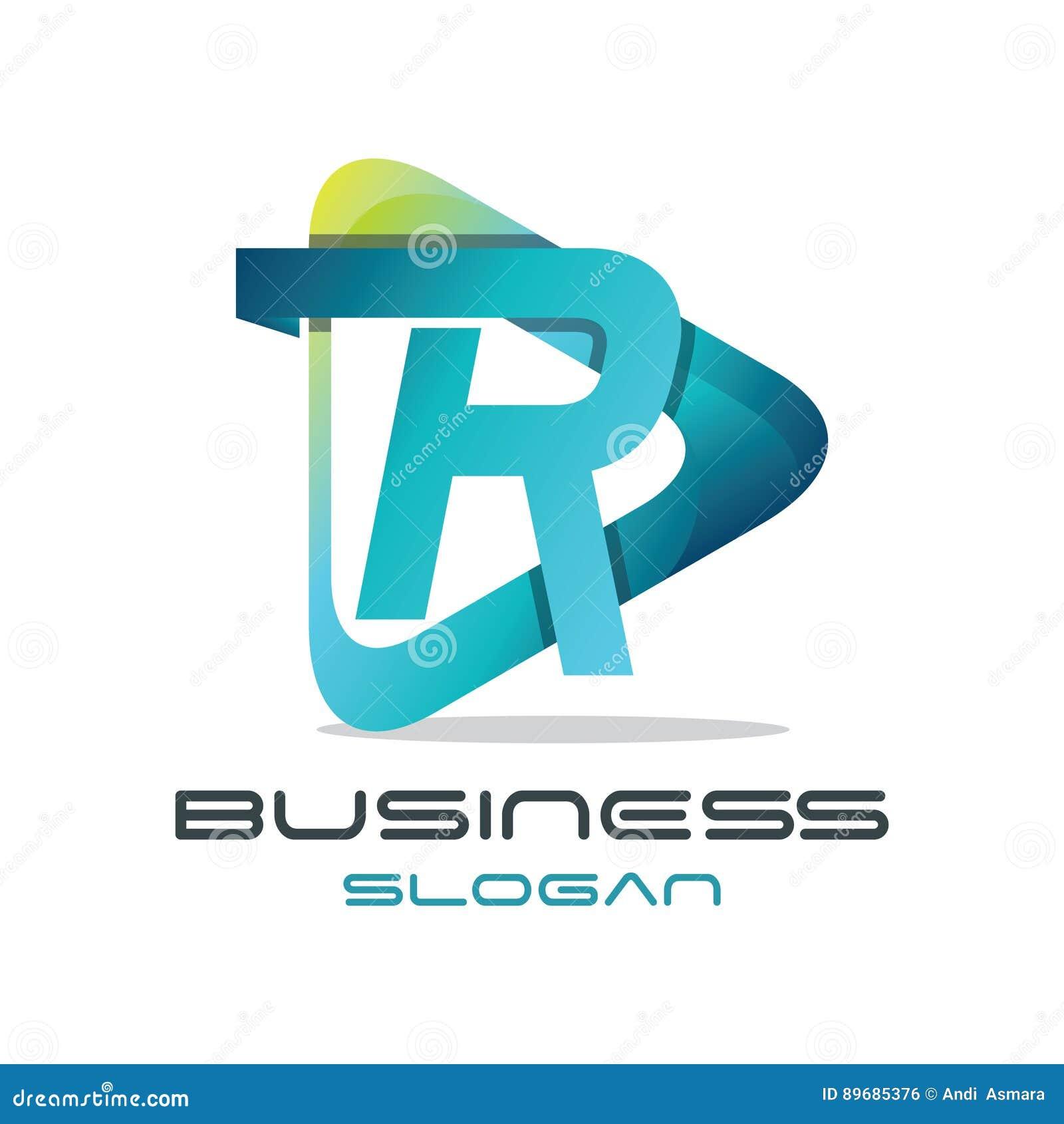 Logo de media de la lettre R