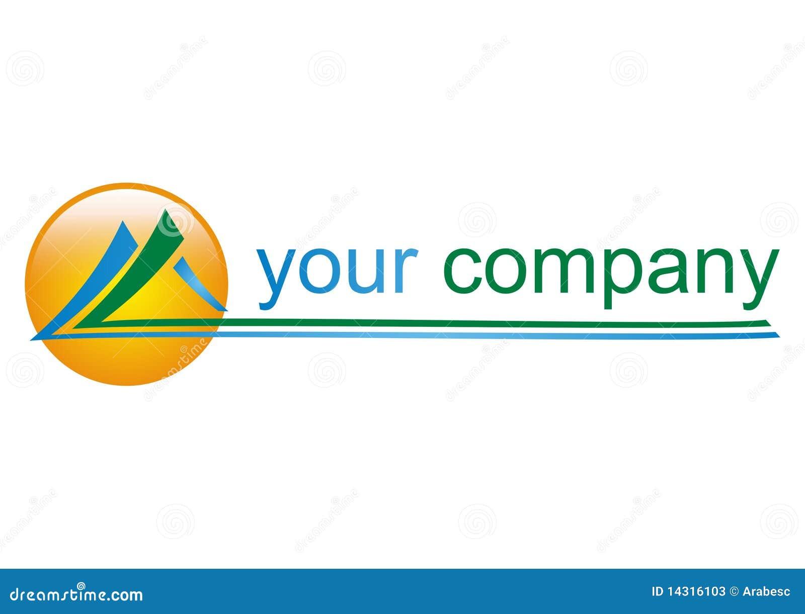 logo de montagne pour votre compagnie illustration de. Black Bedroom Furniture Sets. Home Design Ideas