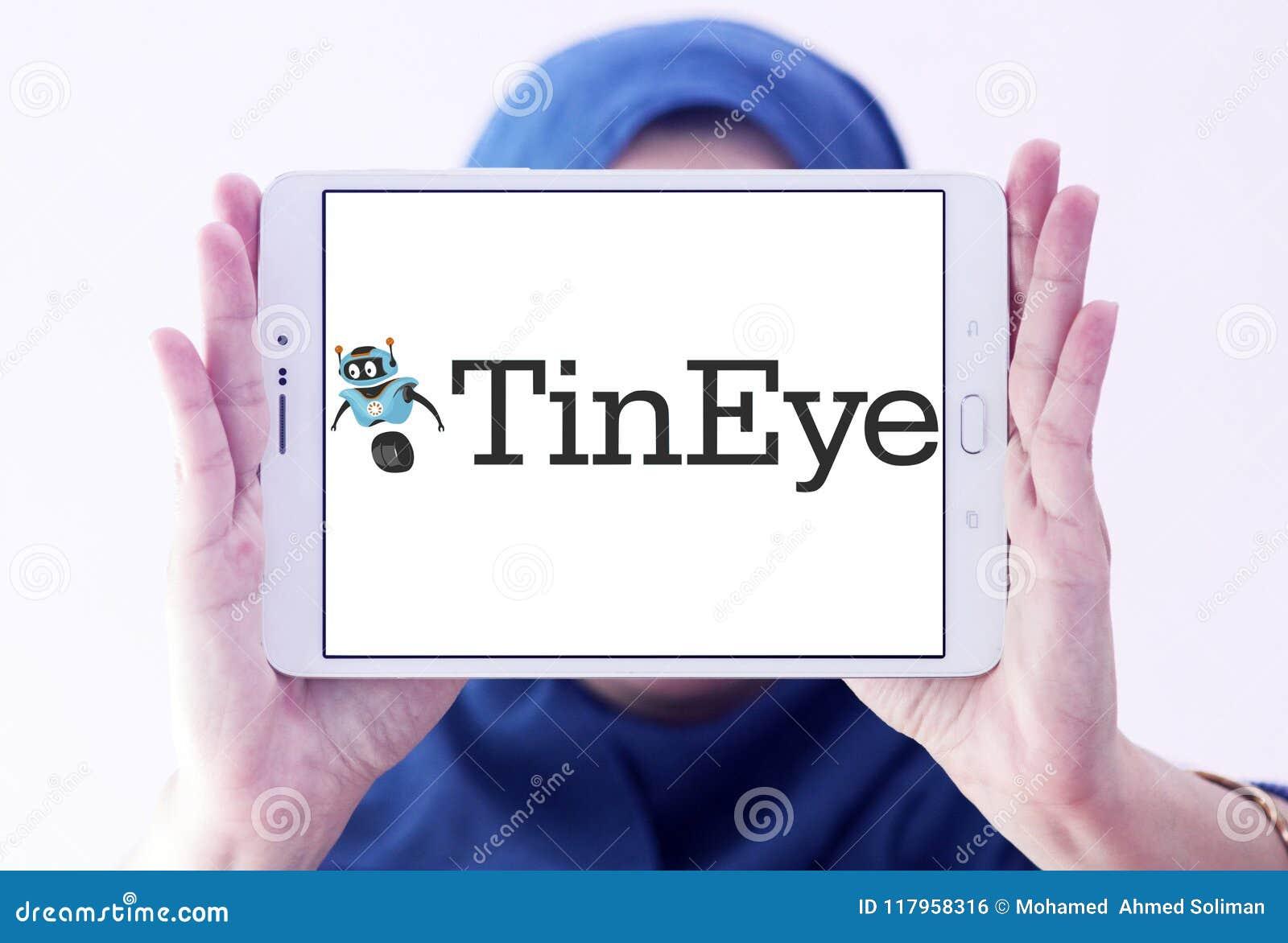 Logo De Moteur De Recherche De Tineye Photo éditorial