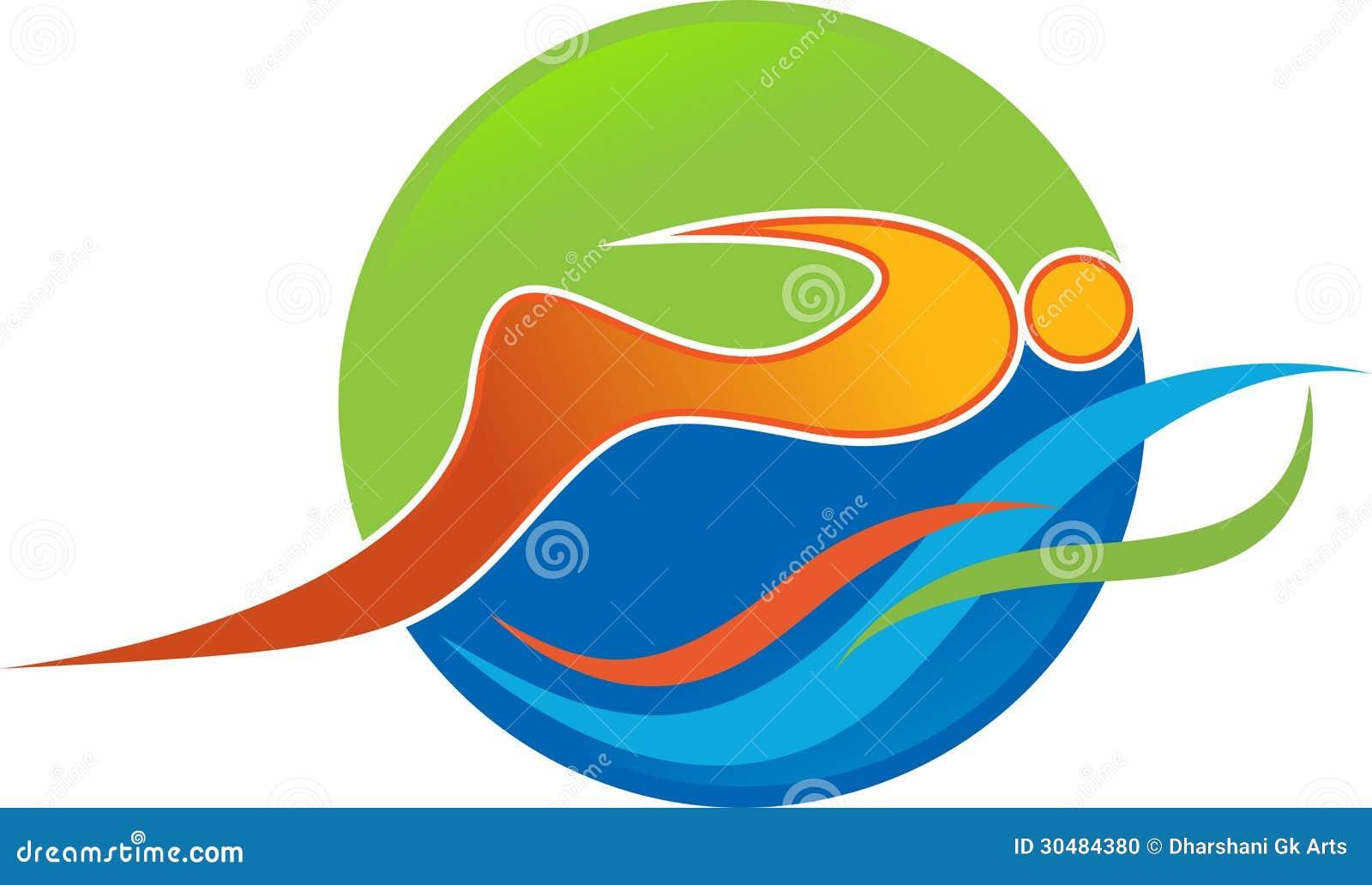 Logo de natation