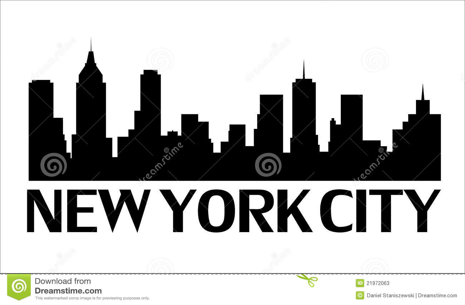 Logo de new york city illustration de vecteur illustration du architecture 21972063 - Image new york a imprimer ...