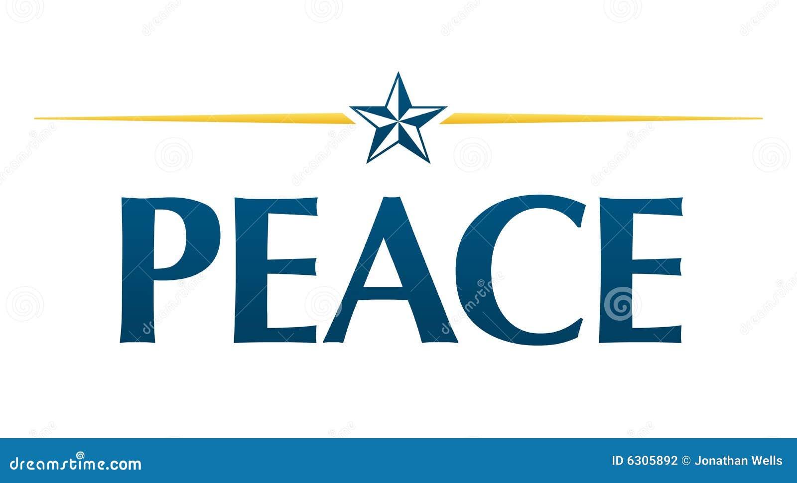 Logo de paix