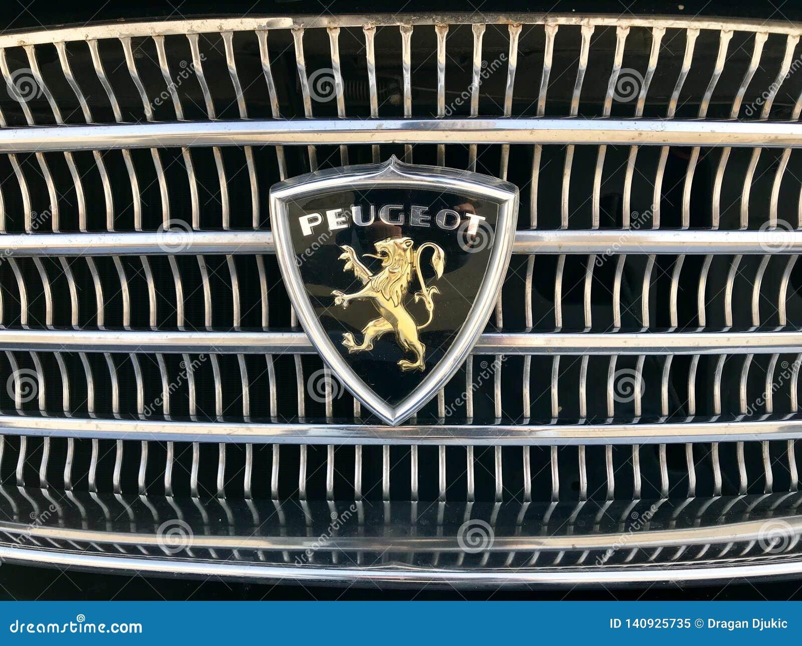 Logo de Peugeot de cru