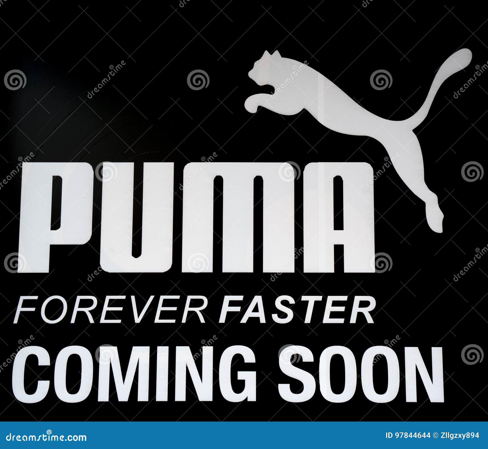 Logo Stock Puma Du Éditorial Vacances De Image 97844644 FrFqxZA