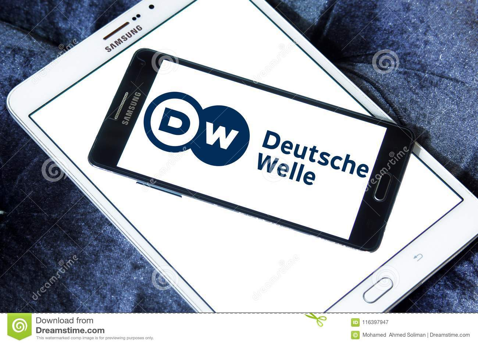 Logo de radiodiffuseur de Deutsche Welle