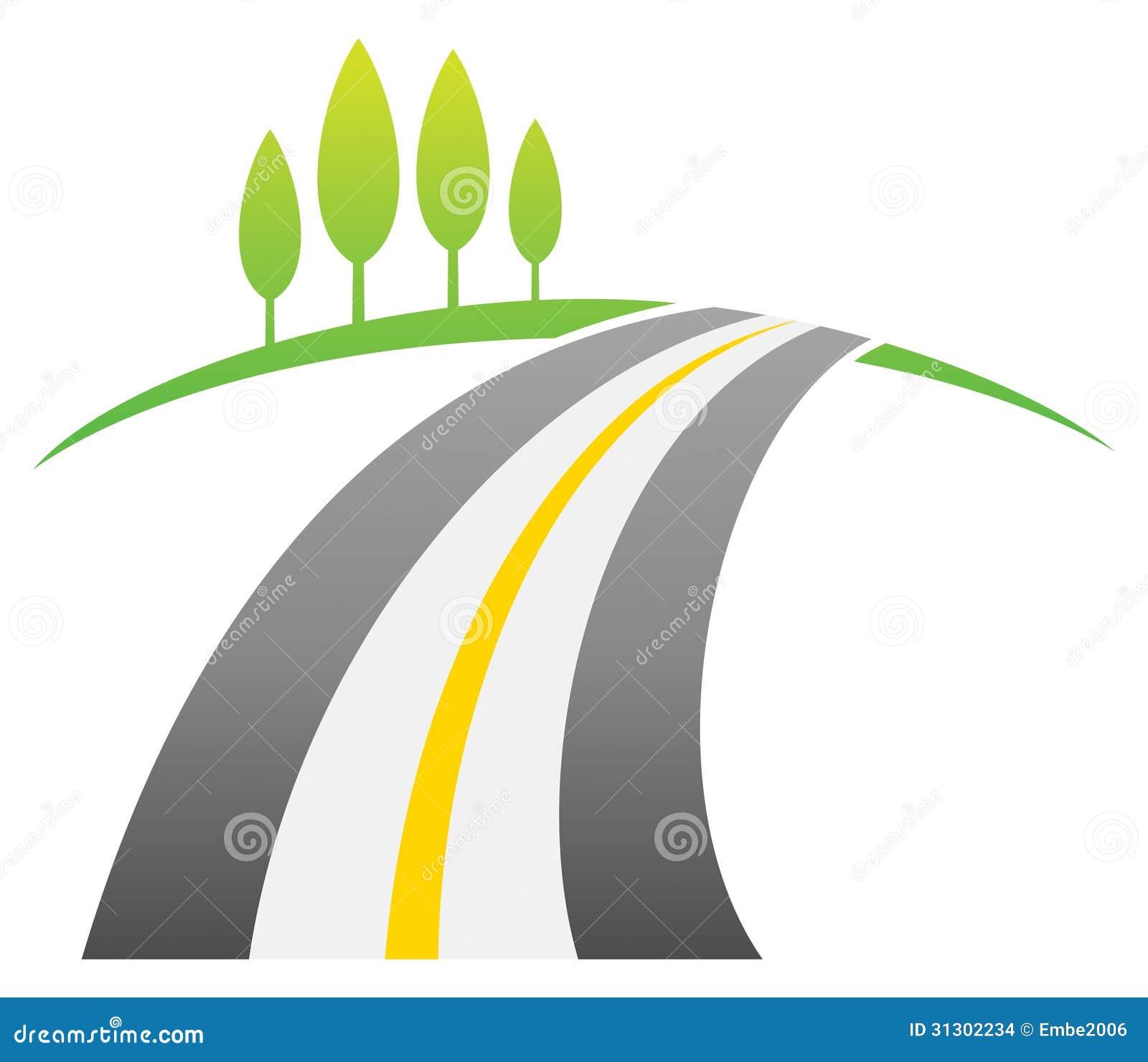 Logo de route