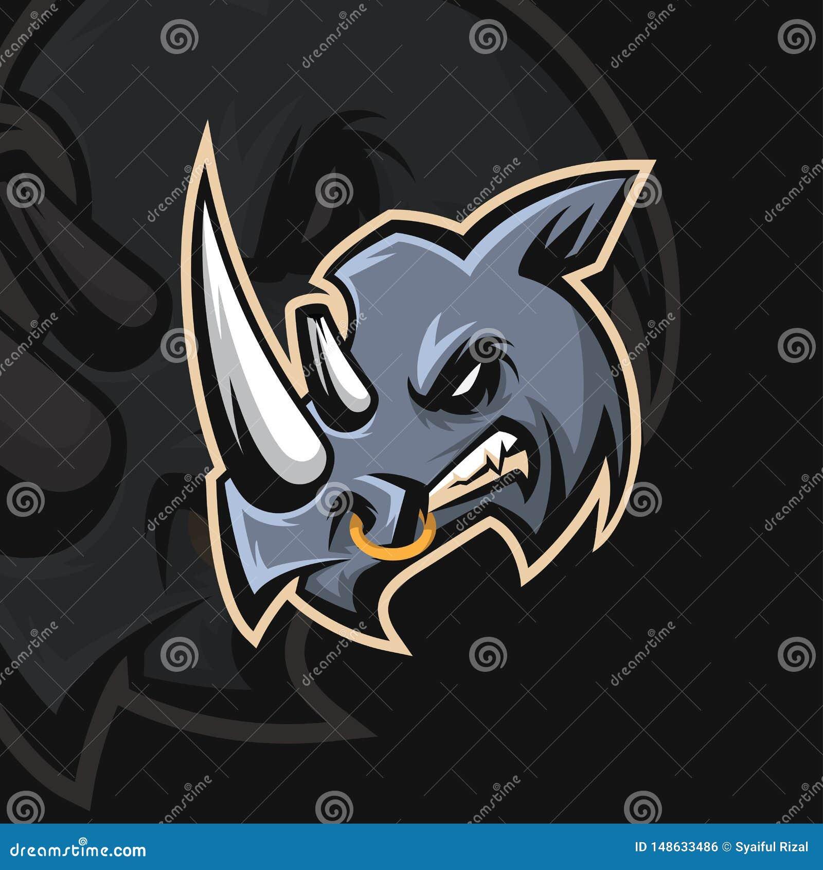 Logo de sport du rhinocéros e