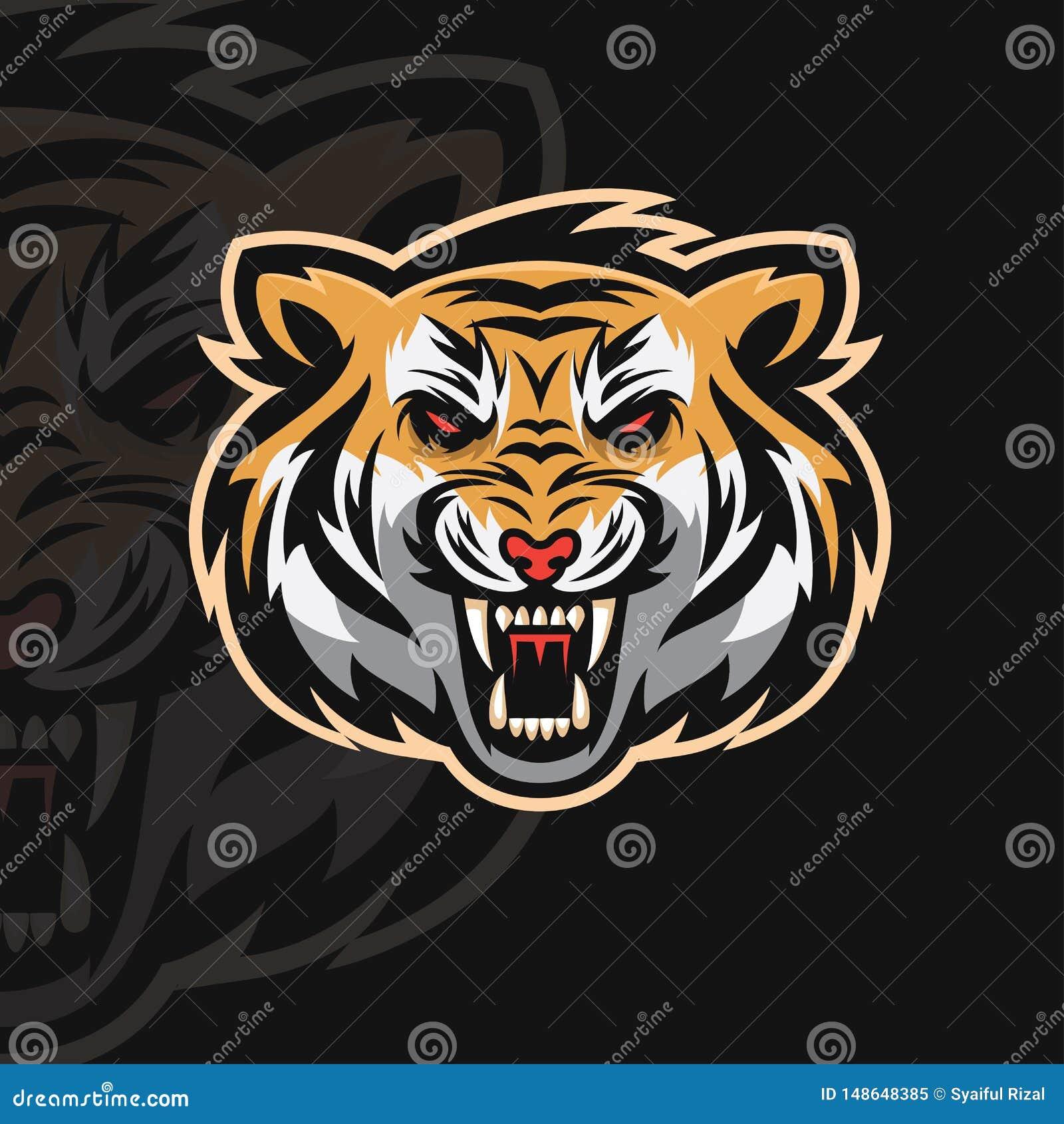 Logo de sport du tigre e