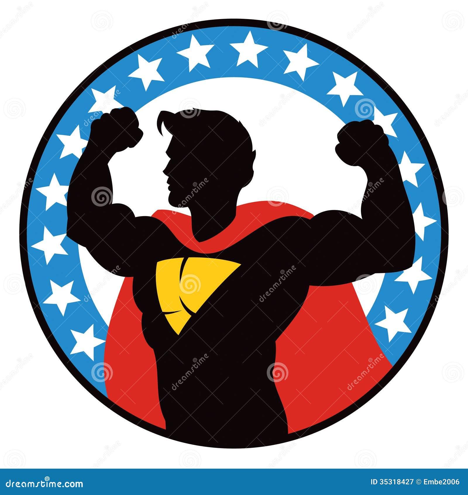 Logo de super héros