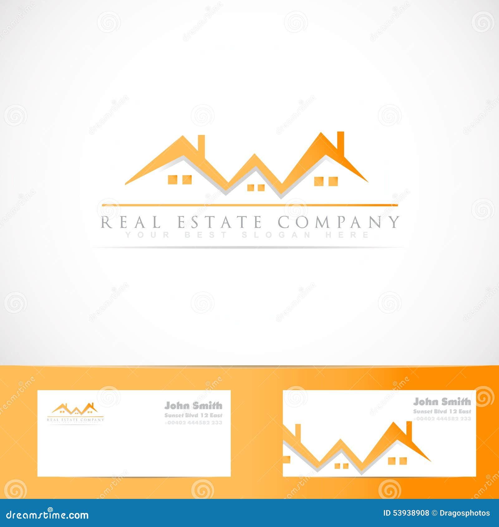 Logo De Toit Maison D Immobiliers