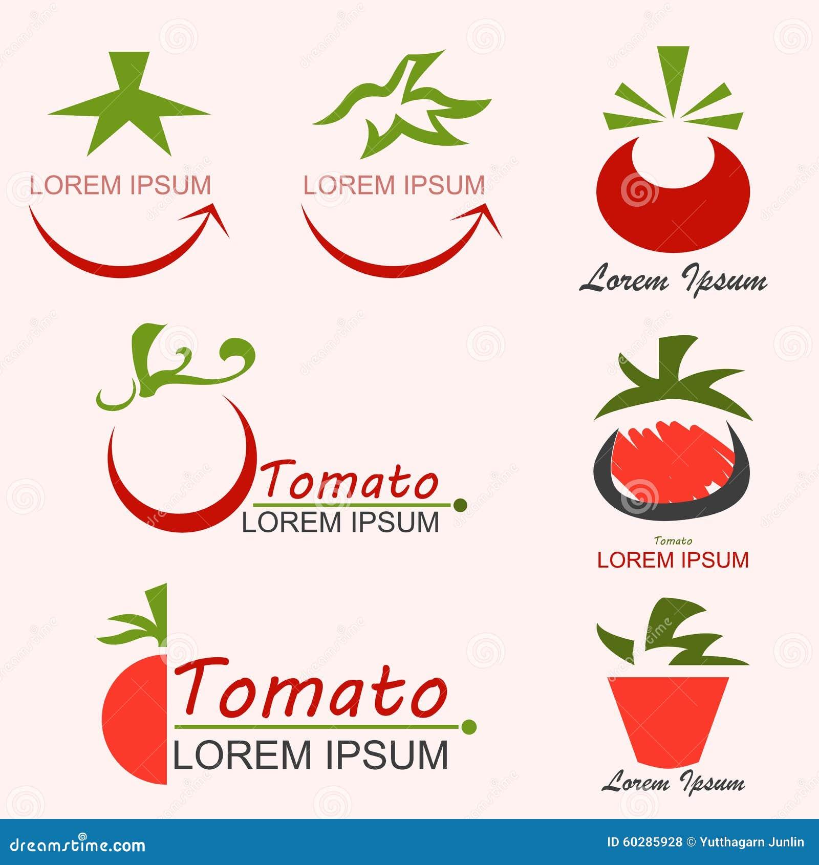 Logo de tomate