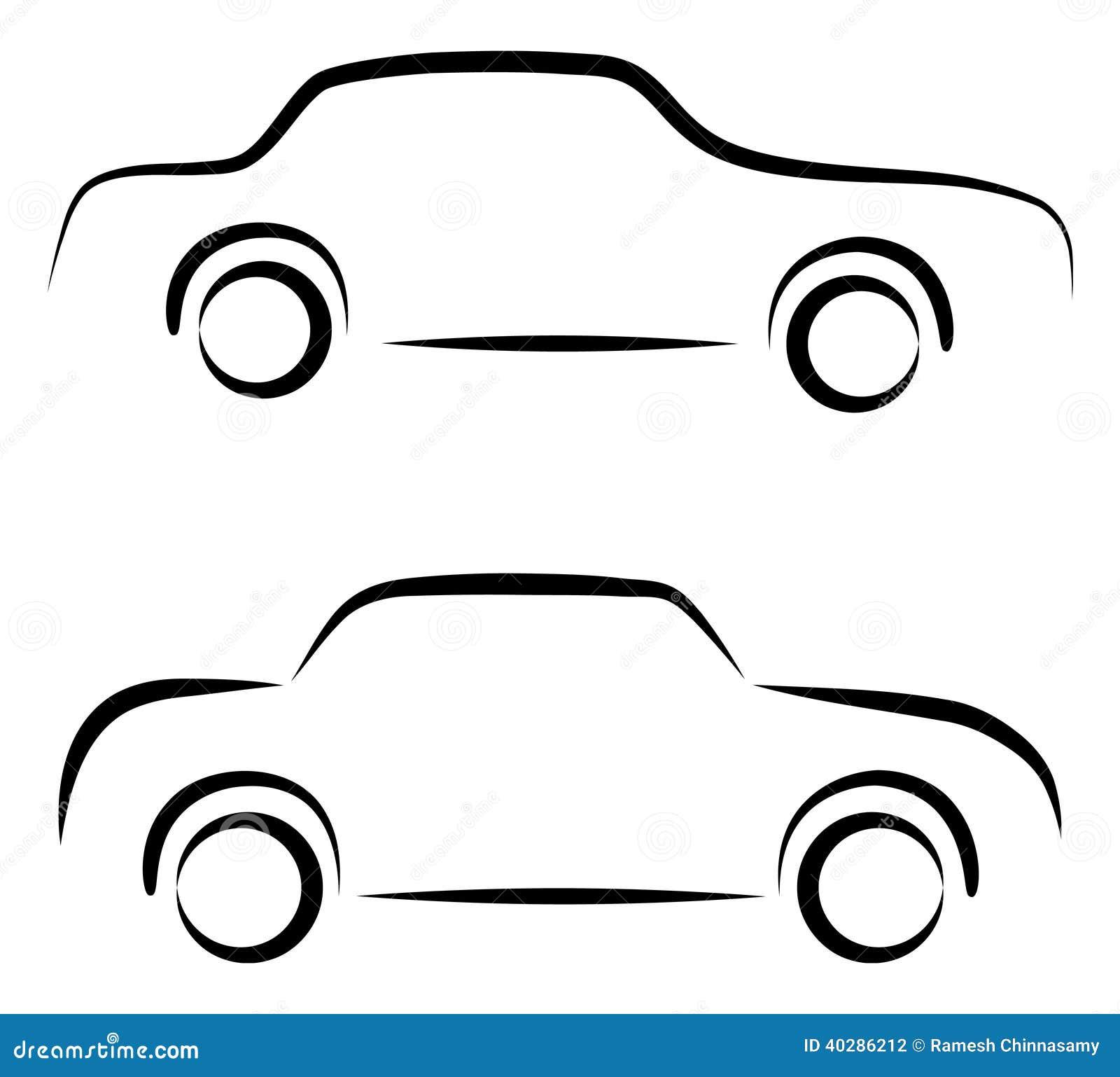 logo de voiture illustration de vecteur