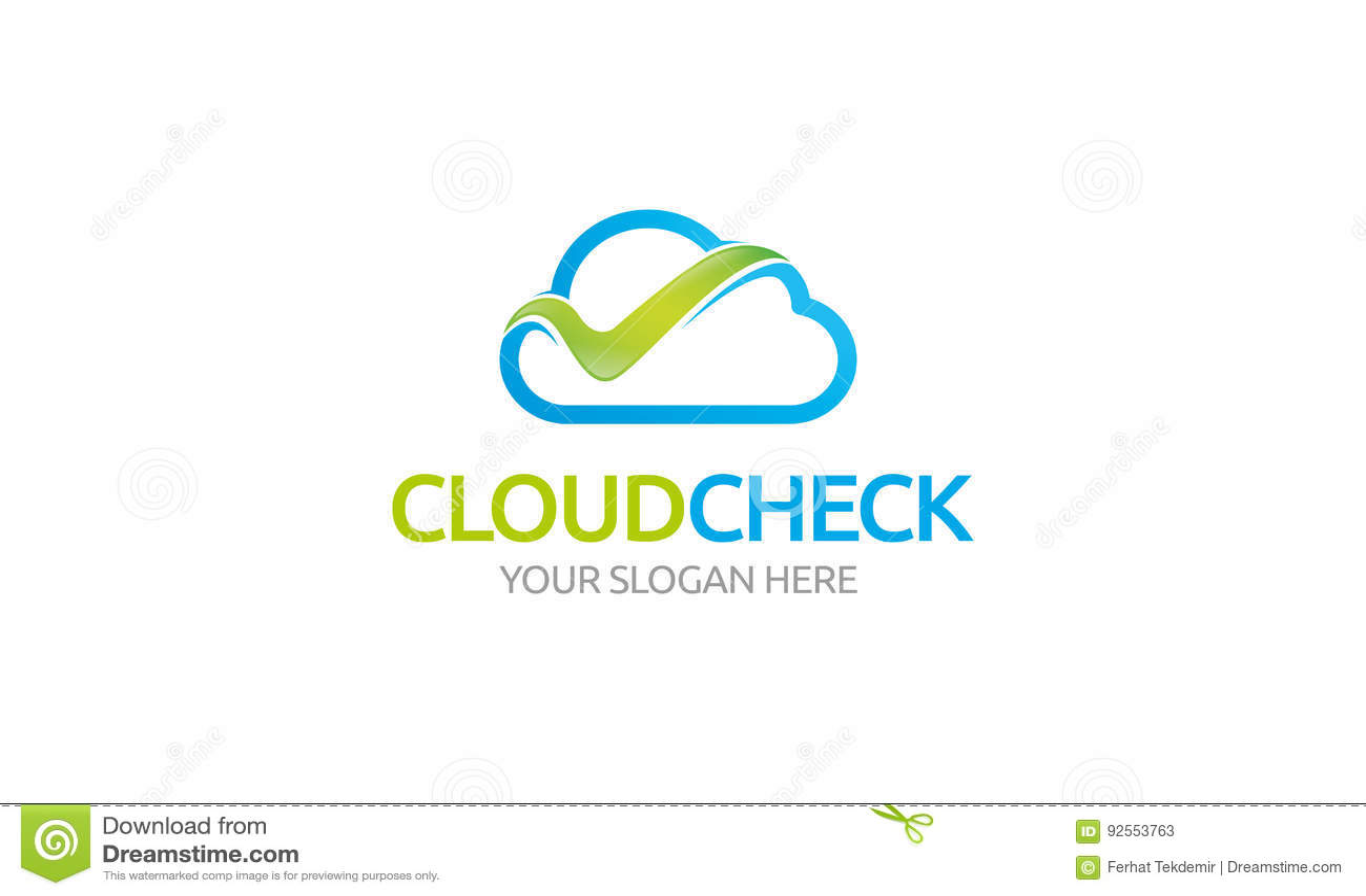 Logo del controllo della nuvola