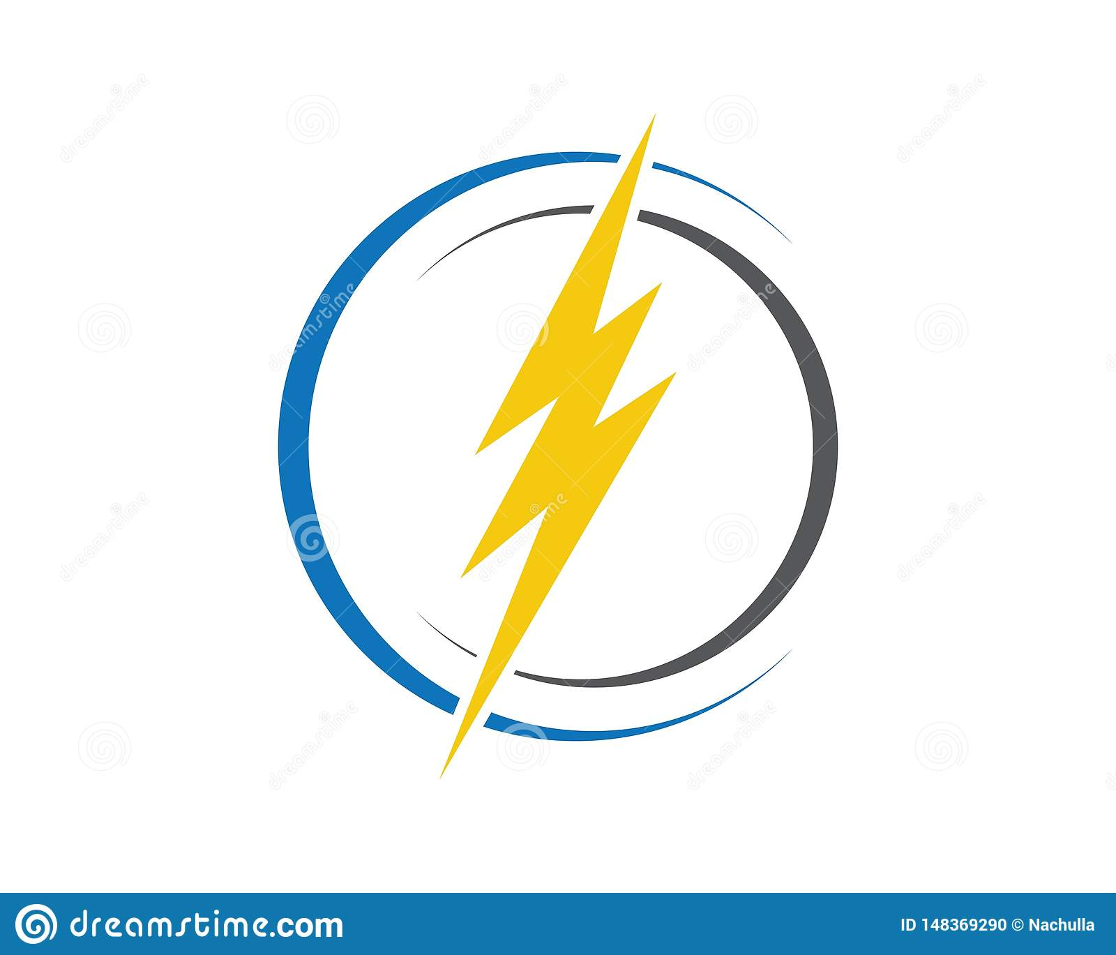 Logo del fulmine