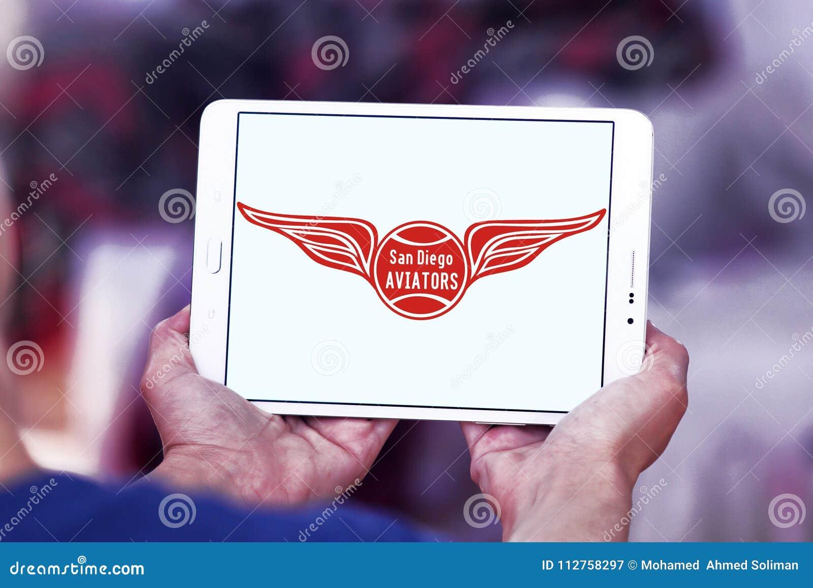 Logo del gruppo di tennis di San Diego Aviators