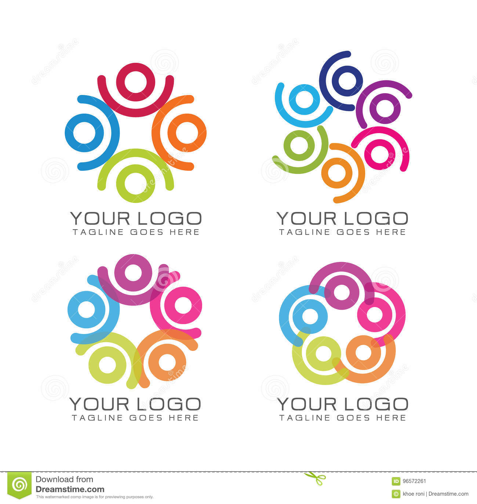 Logo del lavoro di gruppo e della Comunità