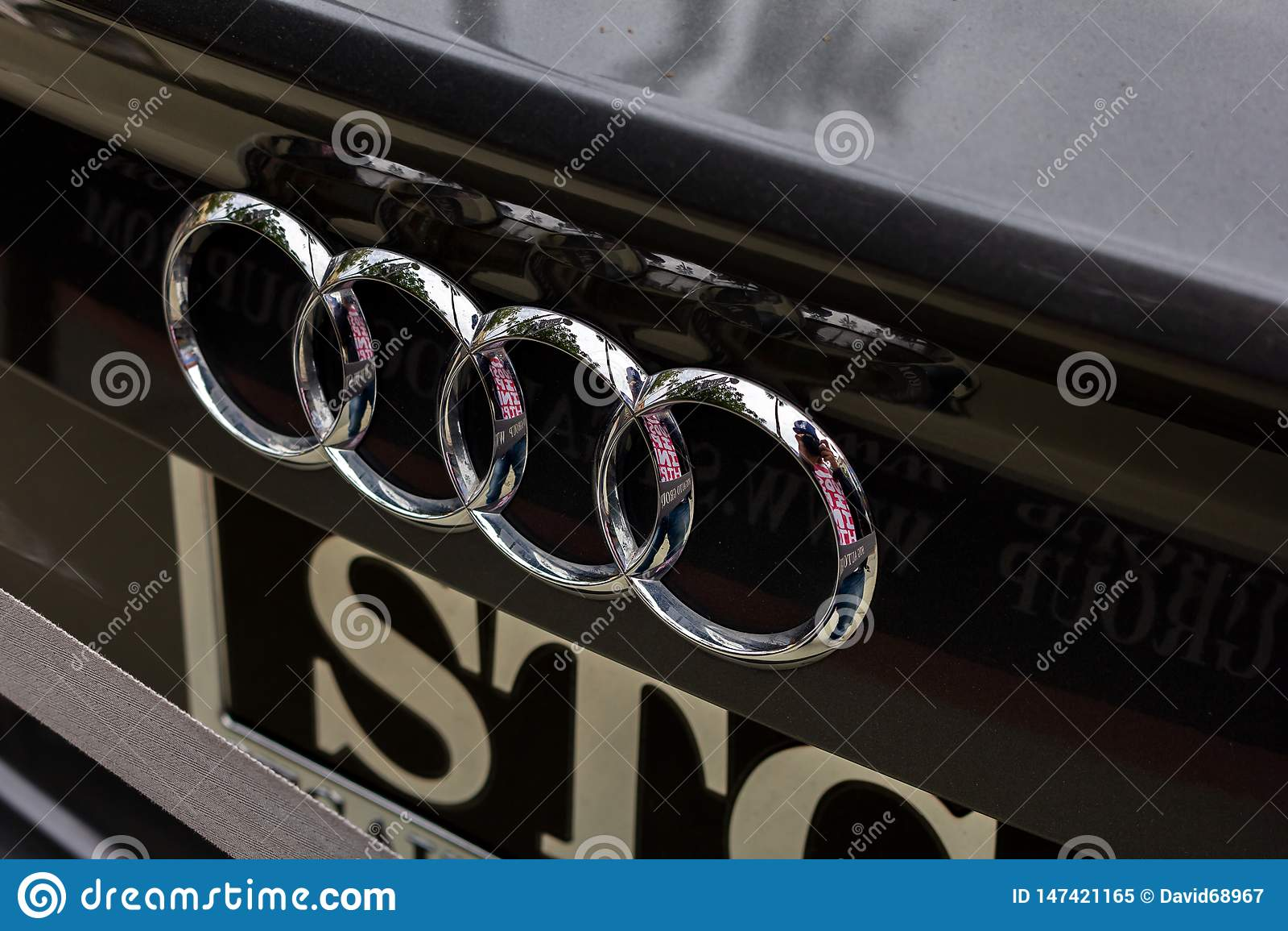 Logo del tronco di Audi