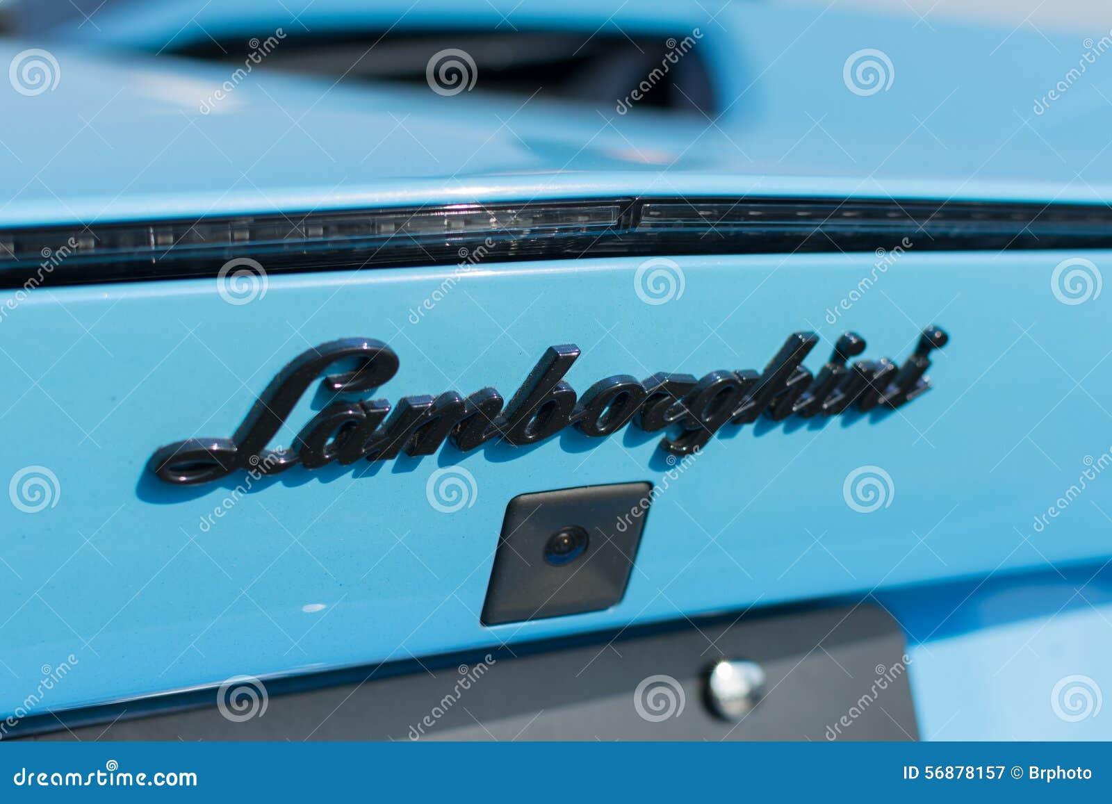 Logo dell automobile di Lamborghini