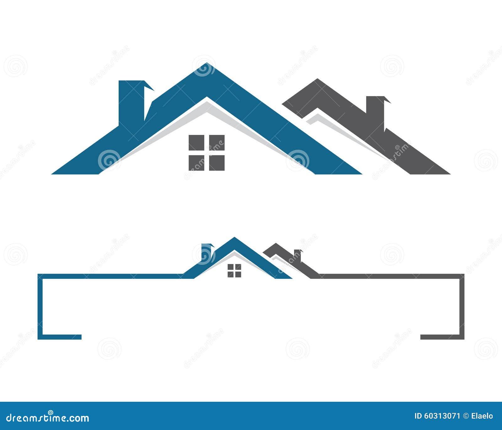 Logo della costruzione e della casa illustrazione for Software gratuito per la costruzione della casa