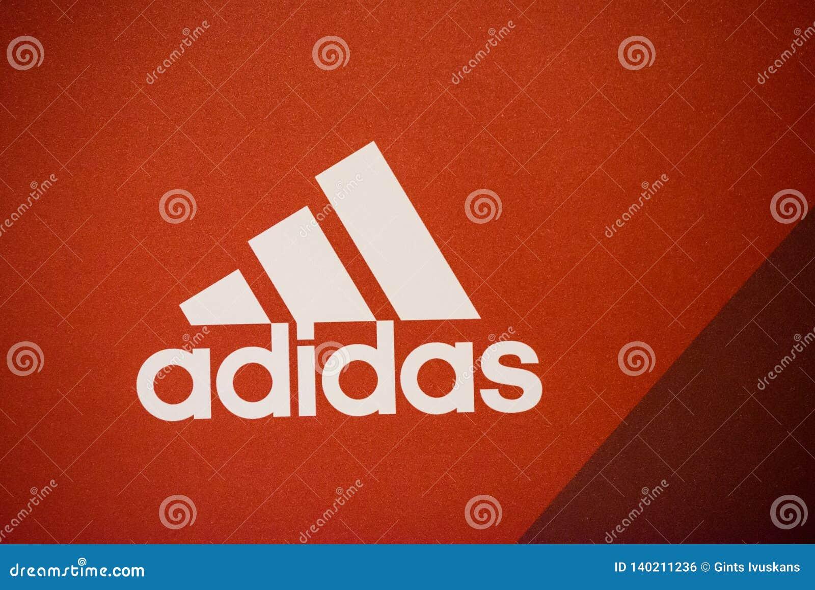 Logo della società di Adidas