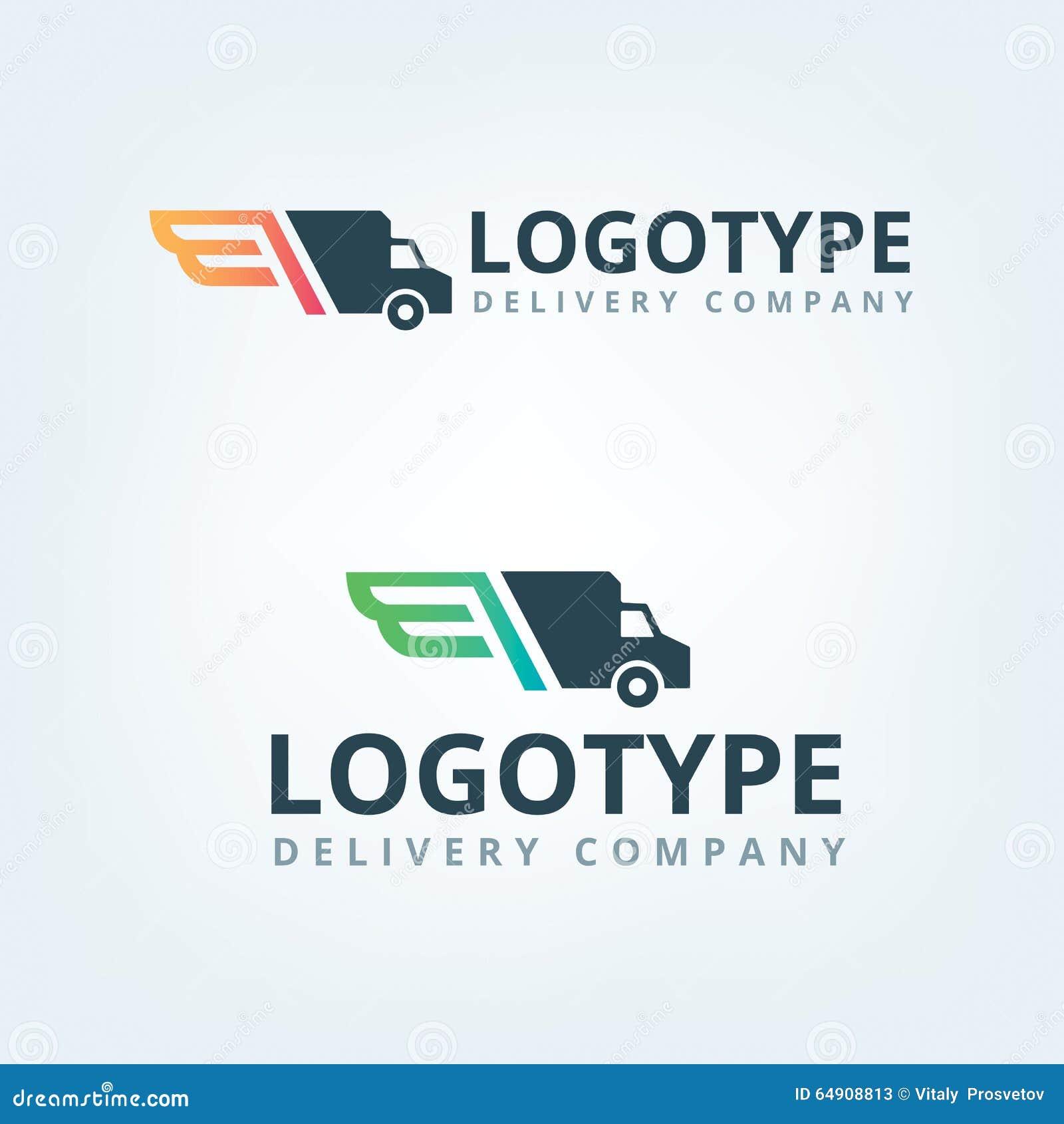 Logo della società di consegna