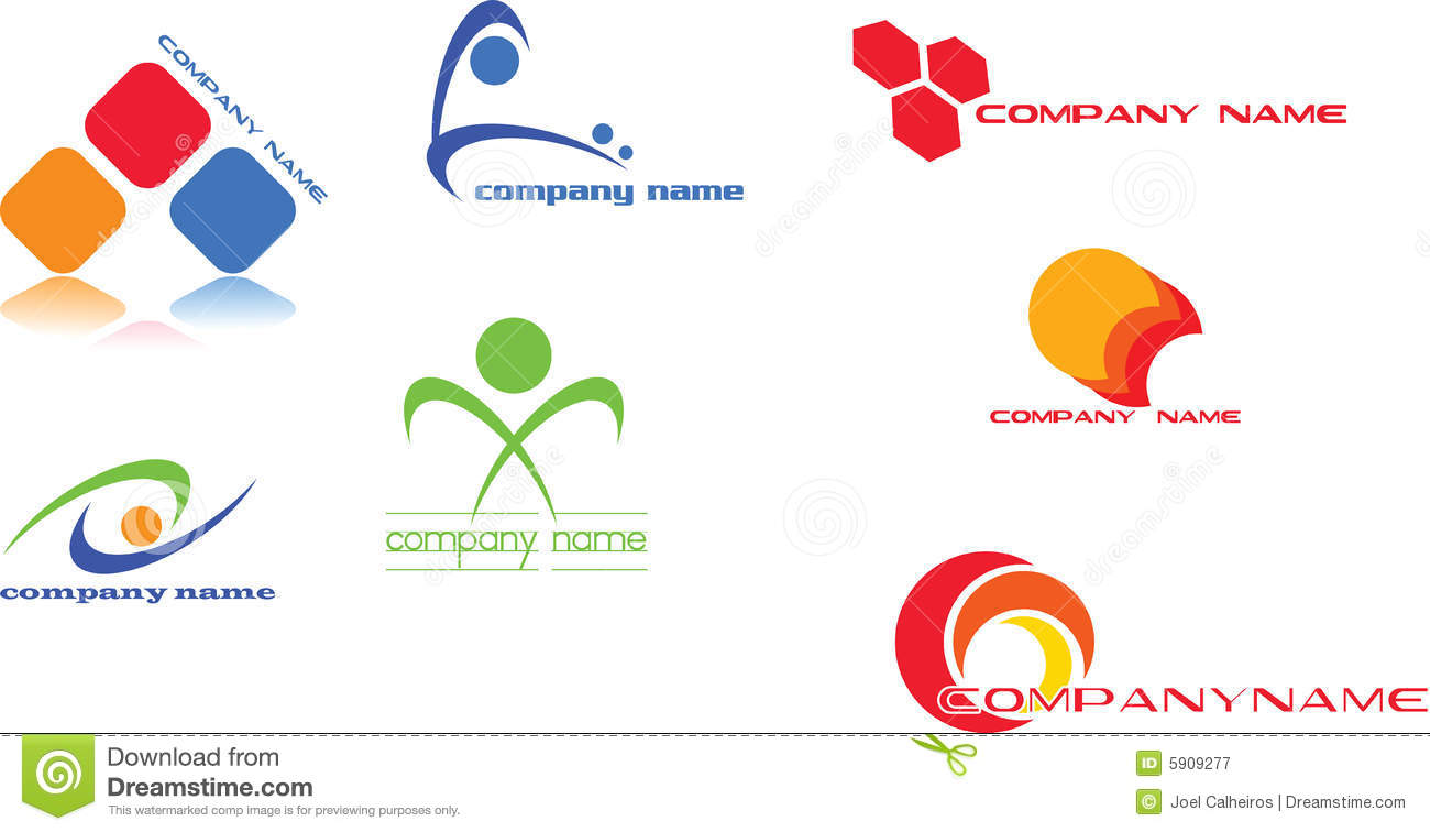 Logo design stock vector. Illustration of graphic, computer - 5909277 for Logo Design Samples Free Download  131fsj