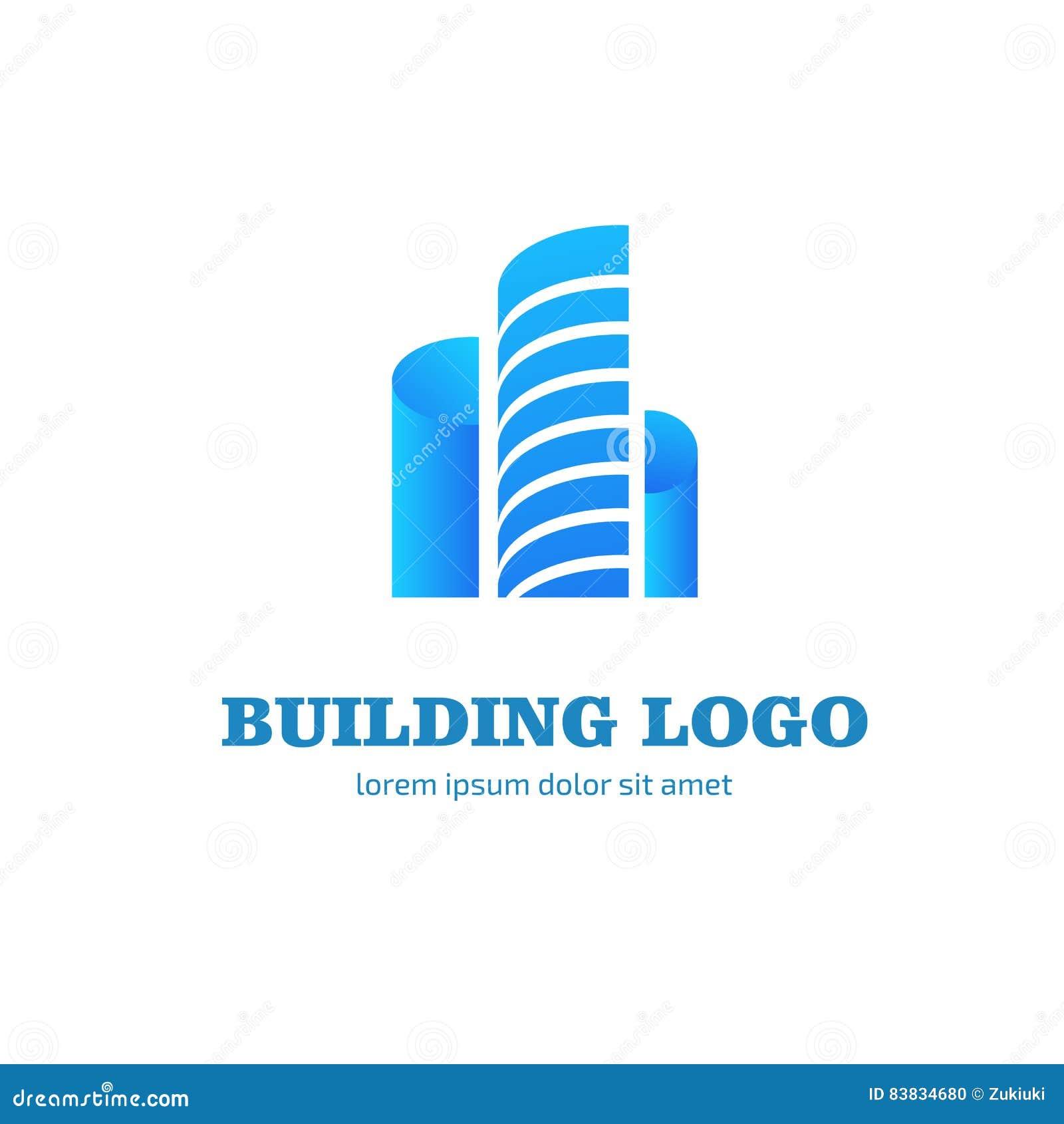 Download Logo Design Building Vector Template Stock