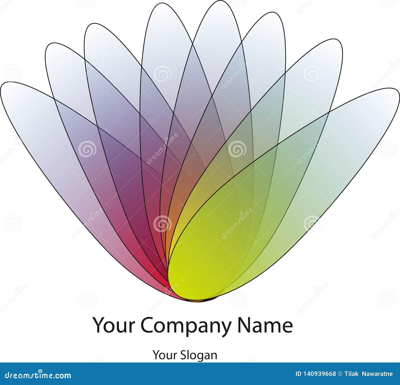 Logo Design colorido para a empresa