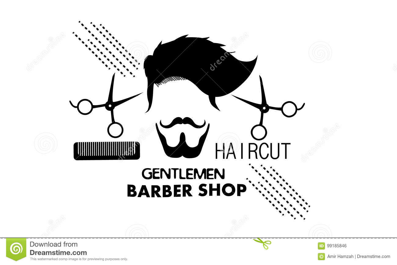 Gentlemen Barber Shop Stock Vector Illustration Of Lifestyle 99185846