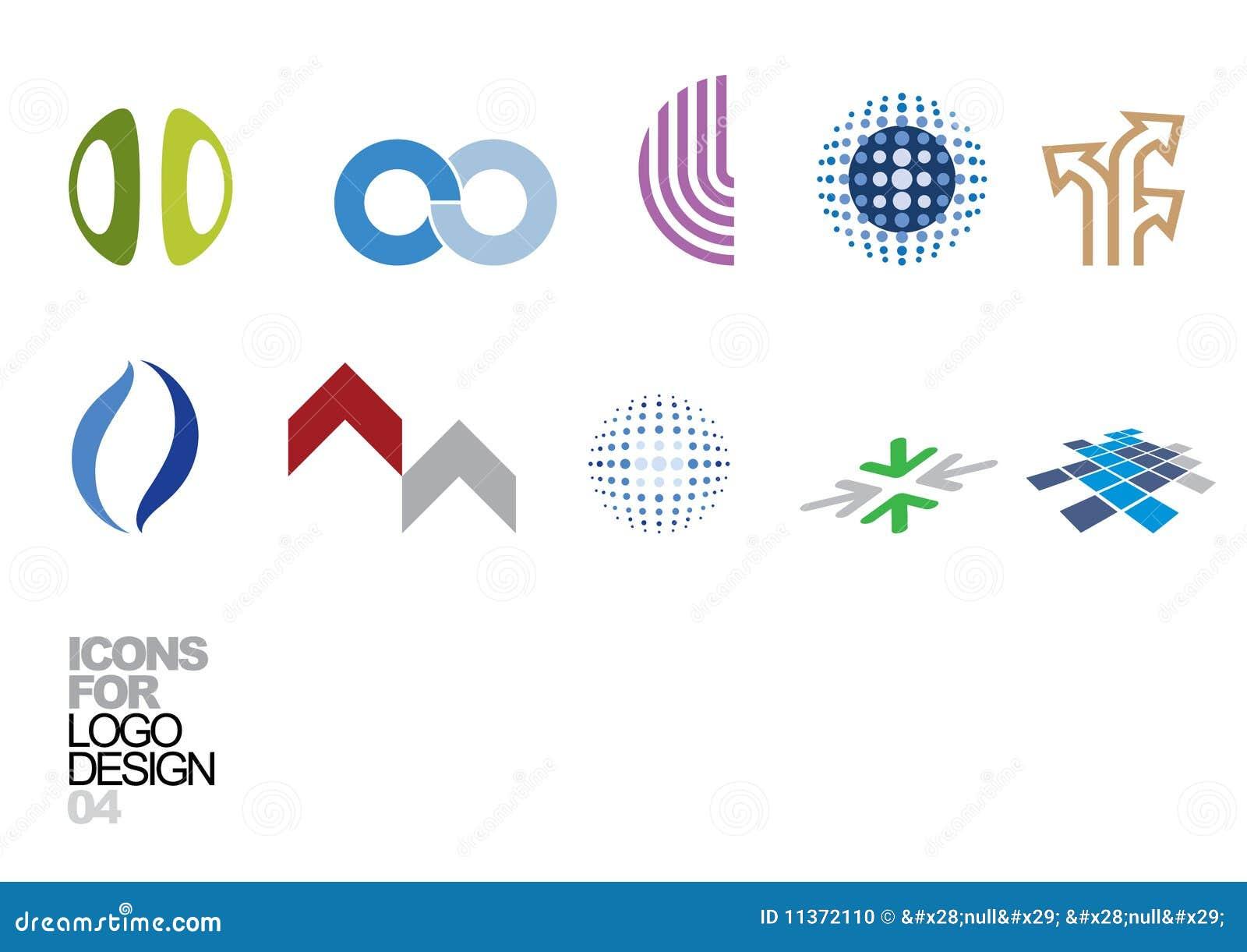Logo Elements Design Vector Free Download