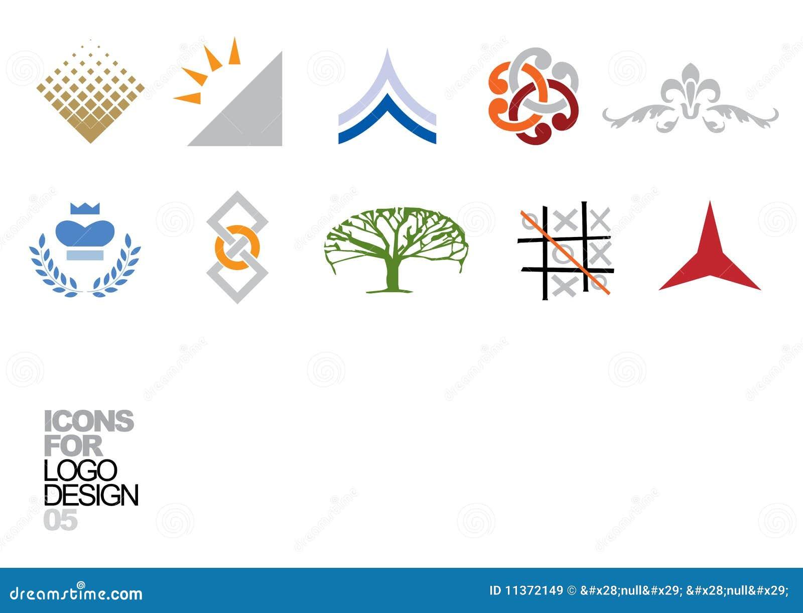 Logo design vector elements 05 royalty free stock images for Design logo gratis