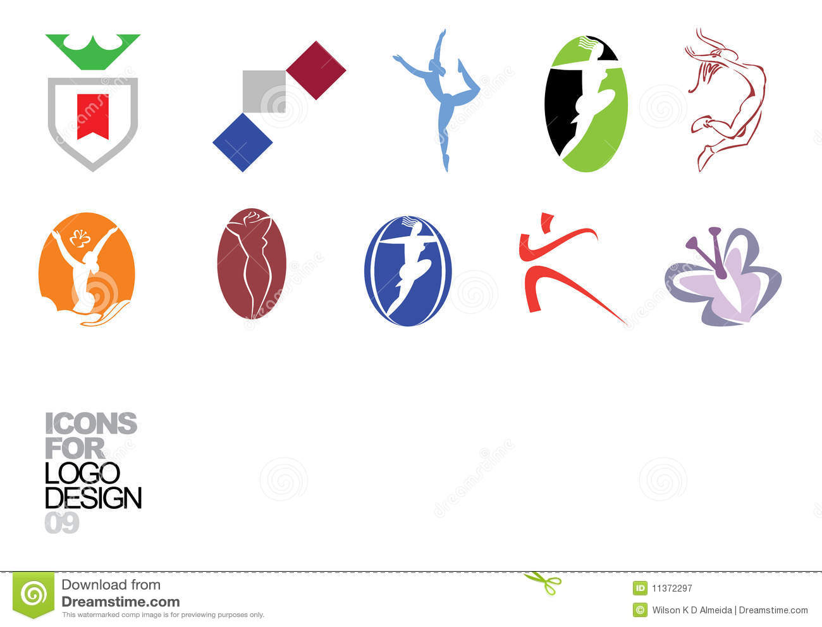 Logo design vector elements 09