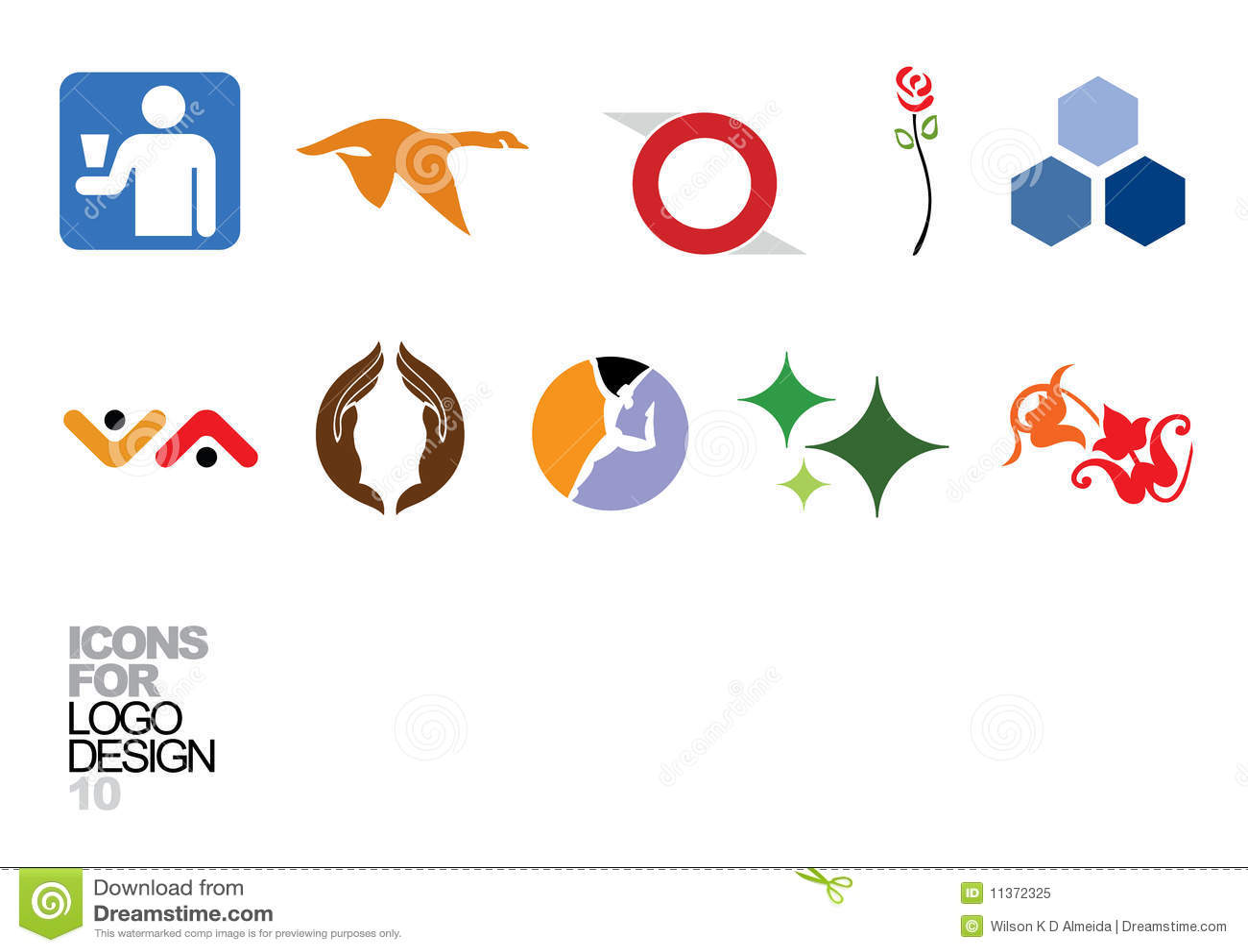 Logo design vector elements 10