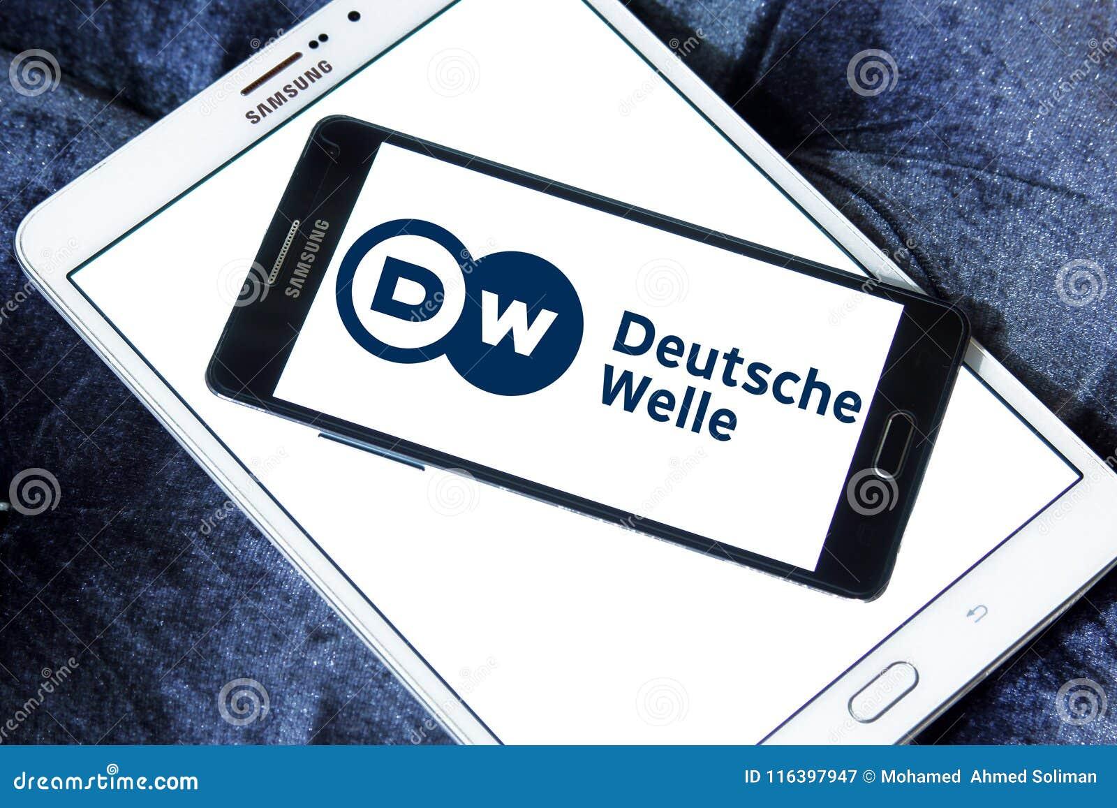 Deutsche Welle broadcaster logo