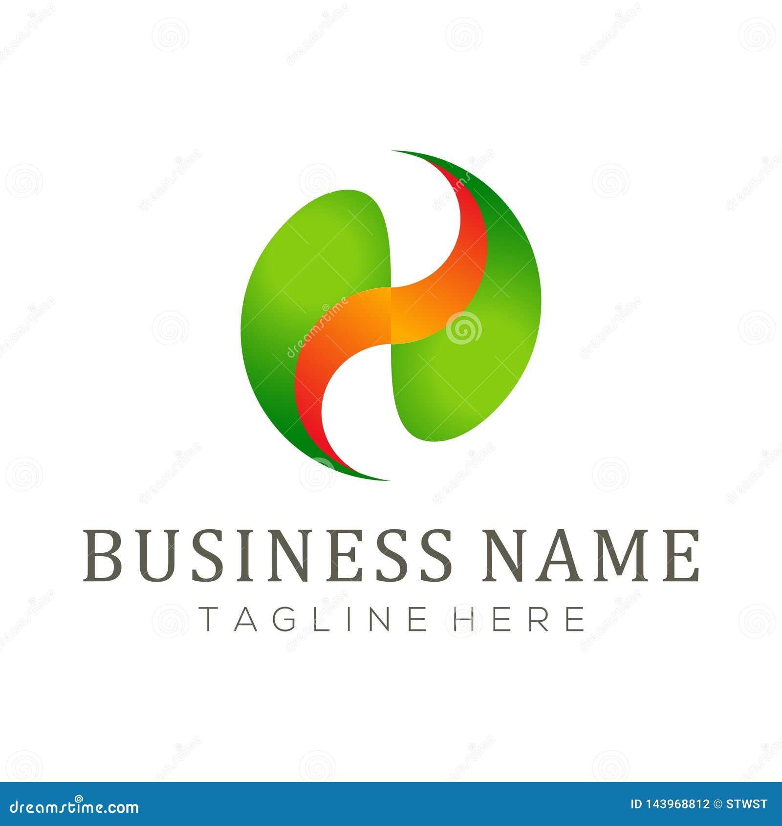 Logo di assicurazione e progettazione dell icona