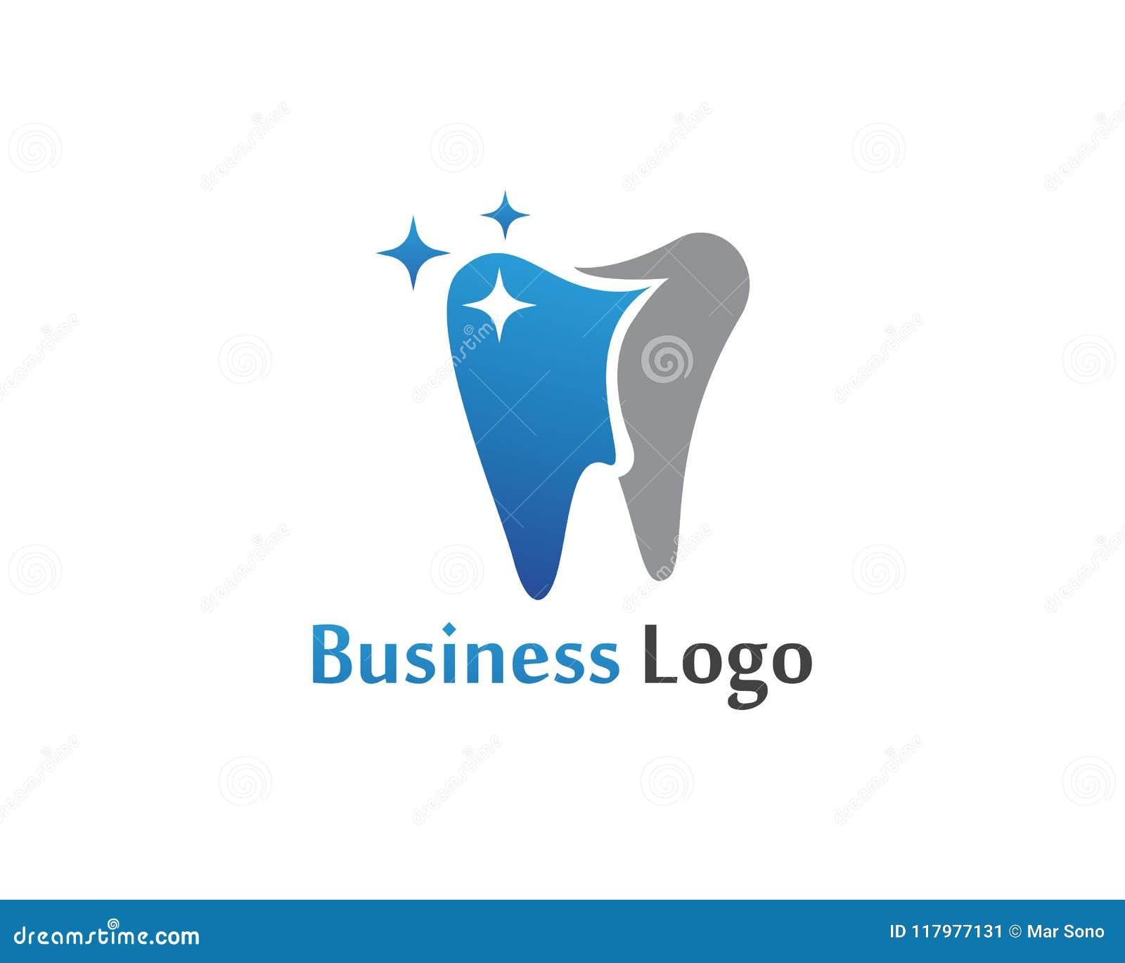 Download Logo Di Cure Odontoiatriche E Modello Di Vettore Di Simboli Illustrazione Vettoriale - Illustrazione di colla, floss: 117977131