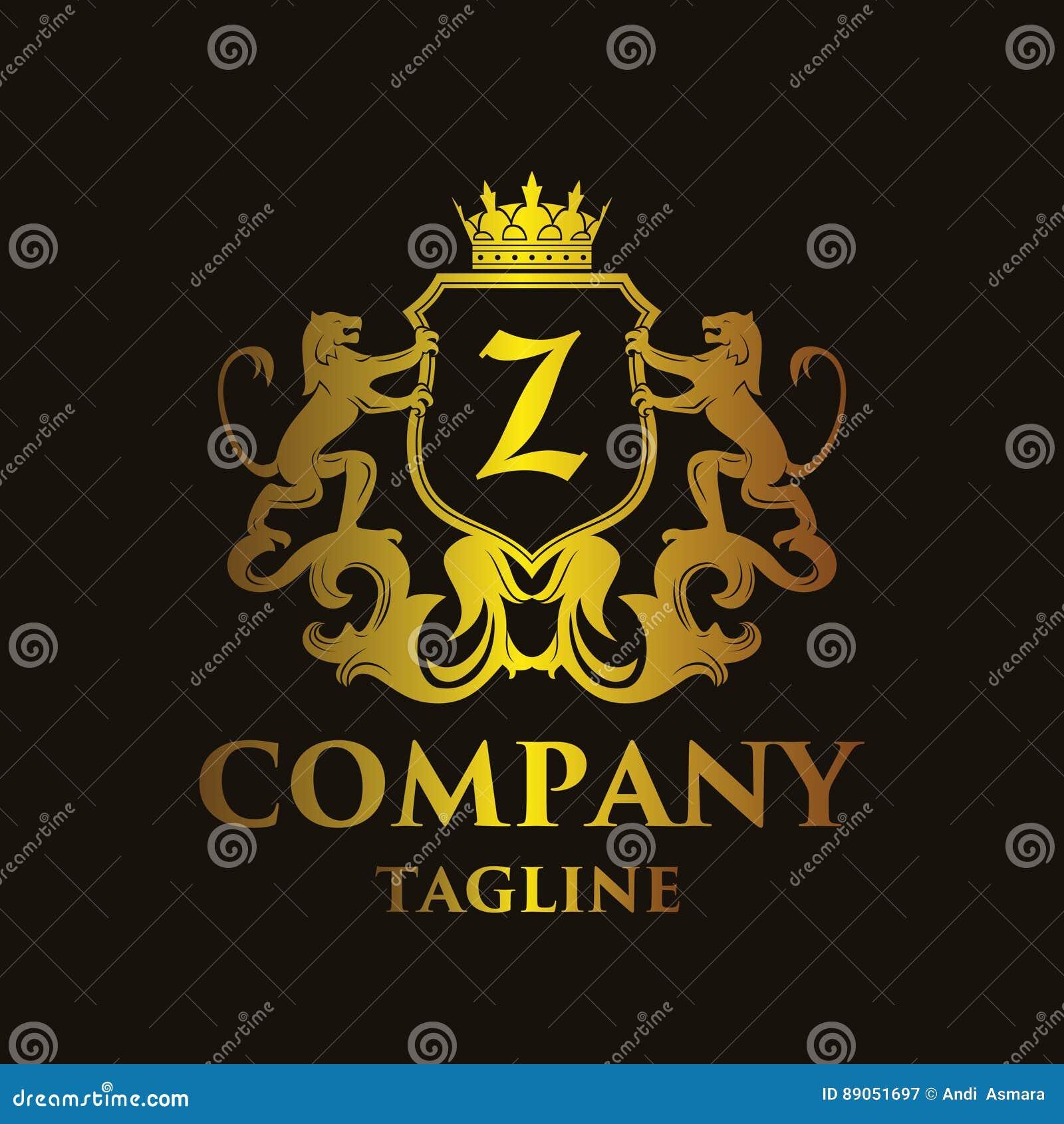 Logo di lusso del ` del ` Z della lettera