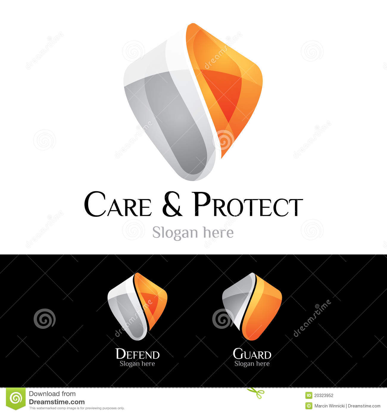 Logo - dispositif protecteur