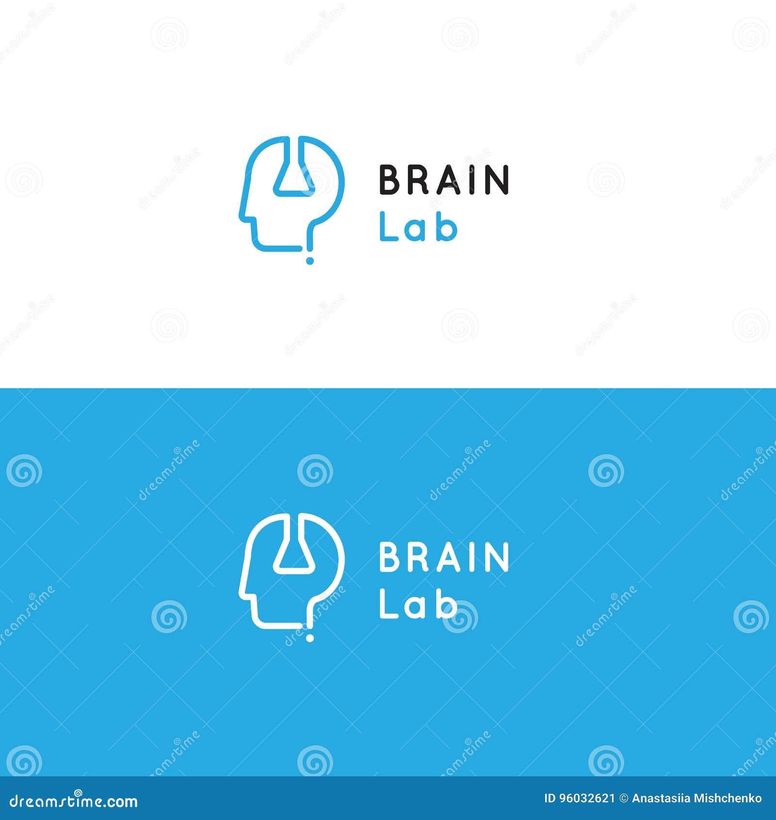 Logo dla psychologii medycznego centrum zdrowia