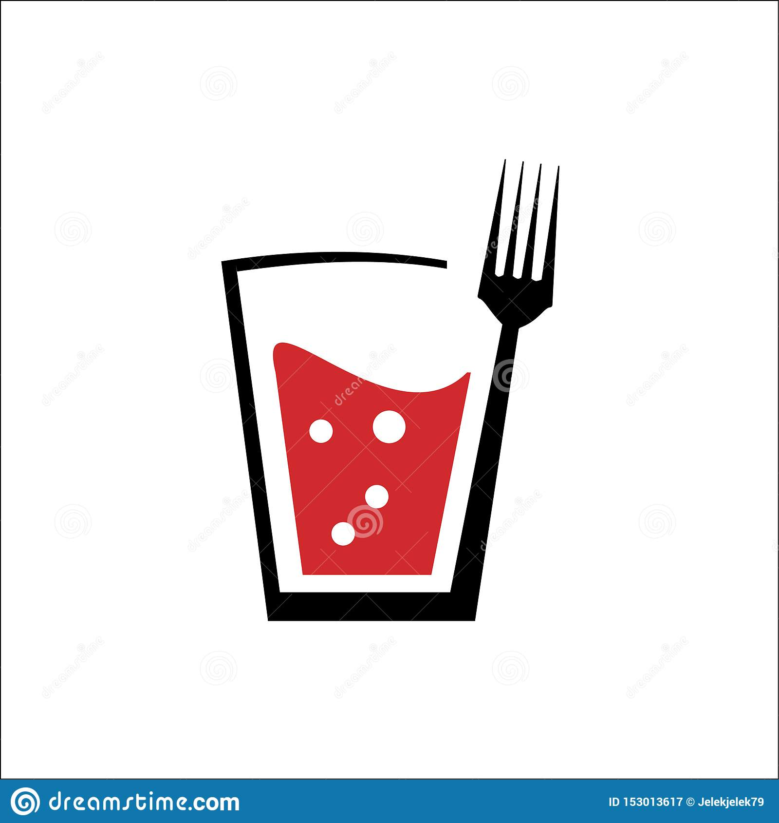 Logo of drink and fork